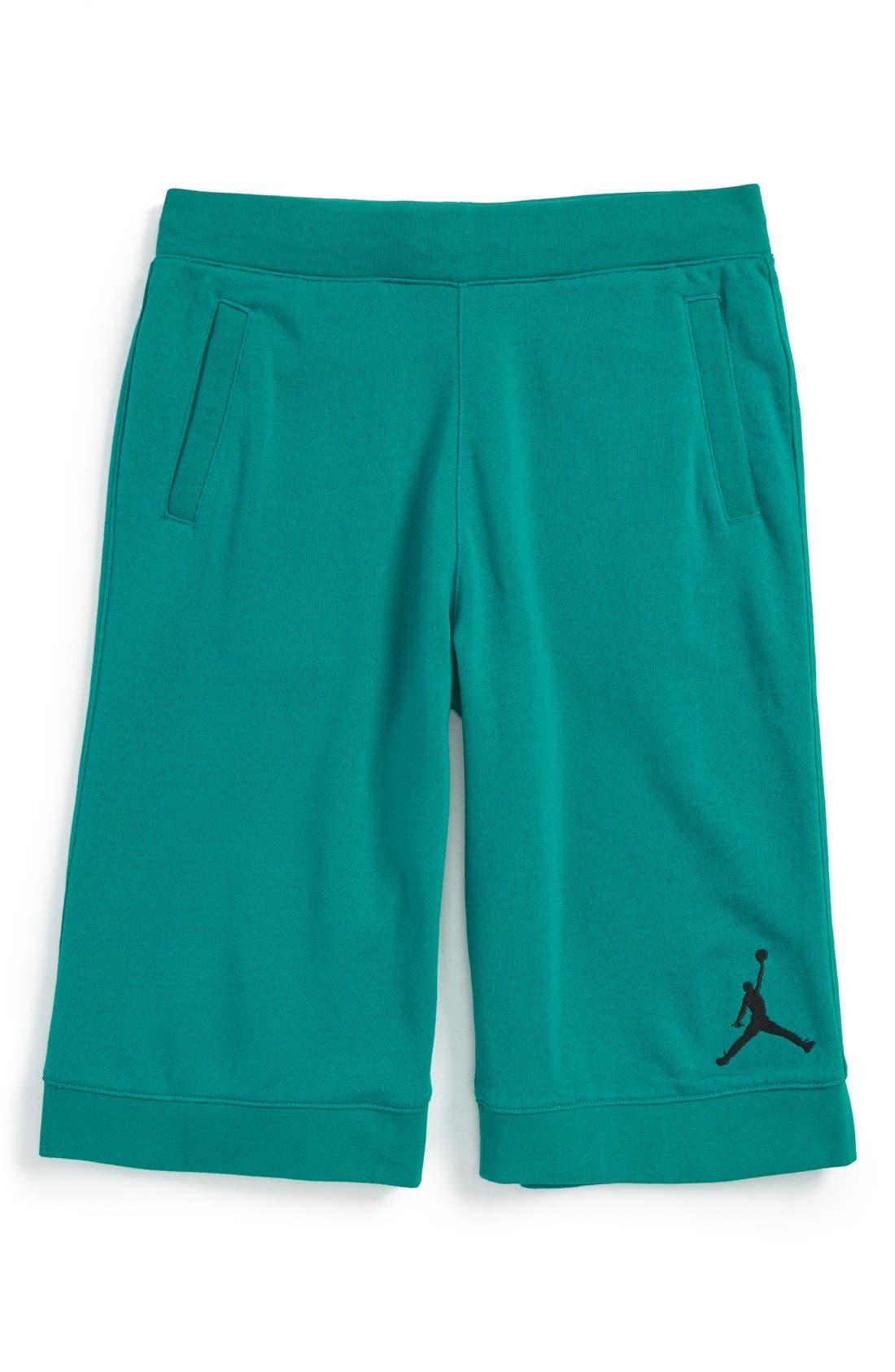 Cotton Blend Shorts, Main, color, 311