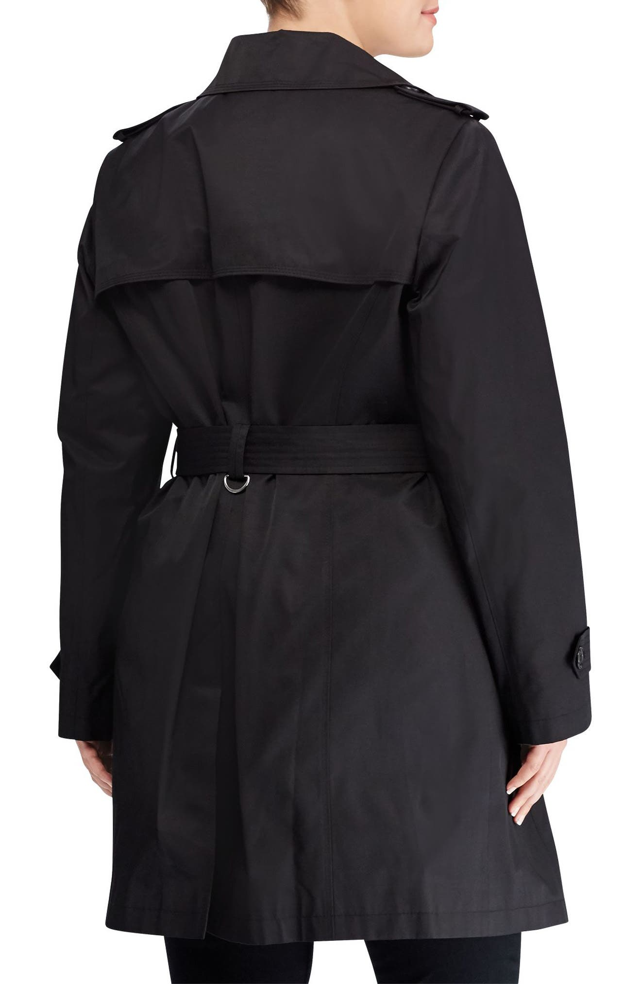 Trench Coat,                             Alternate thumbnail 2, color,                             001
