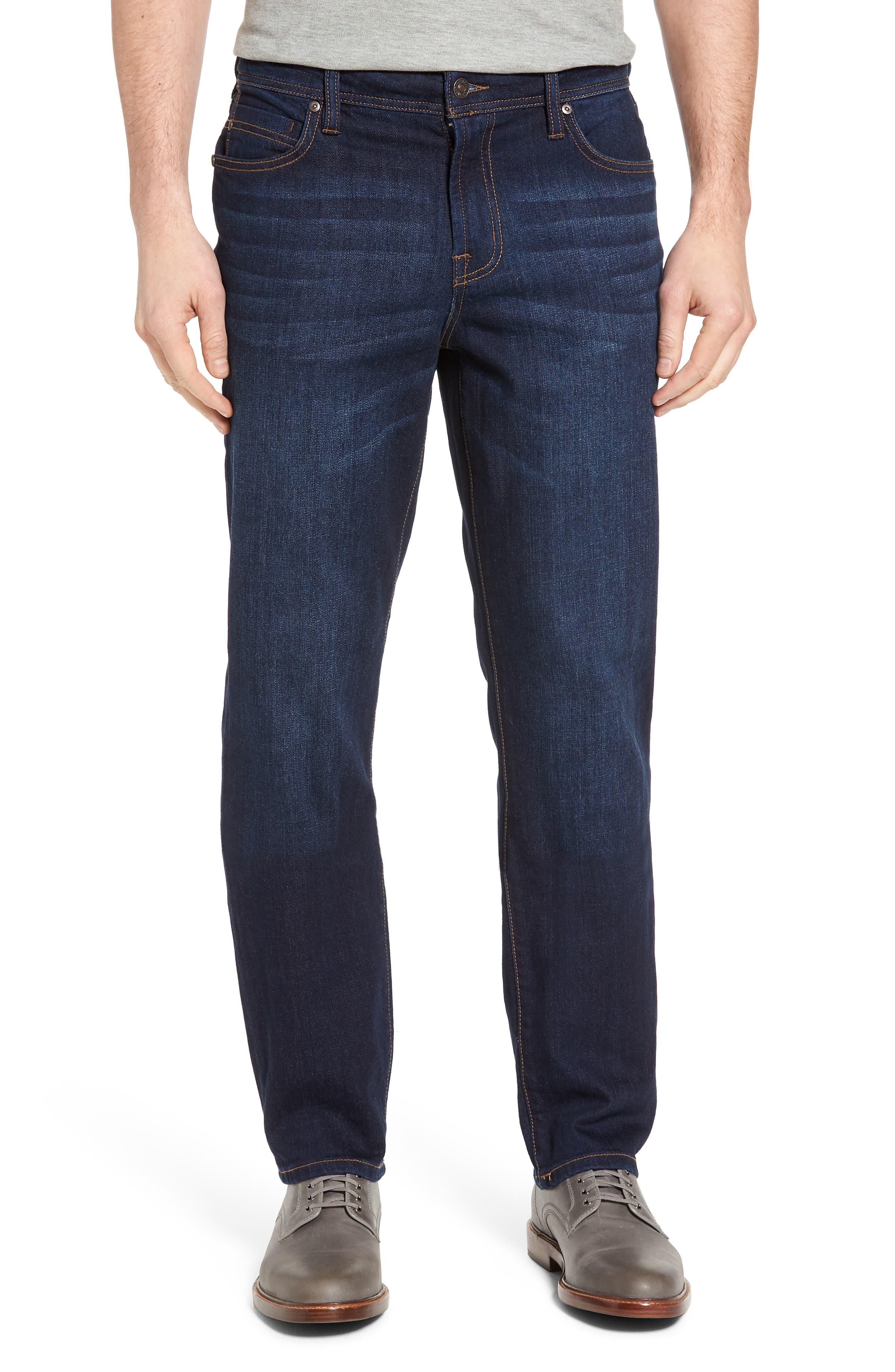 Jeans Co. Regent Relaxed Fit Jeans,                             Main thumbnail 1, color,                             SAN ARDO VINTAGE DARK