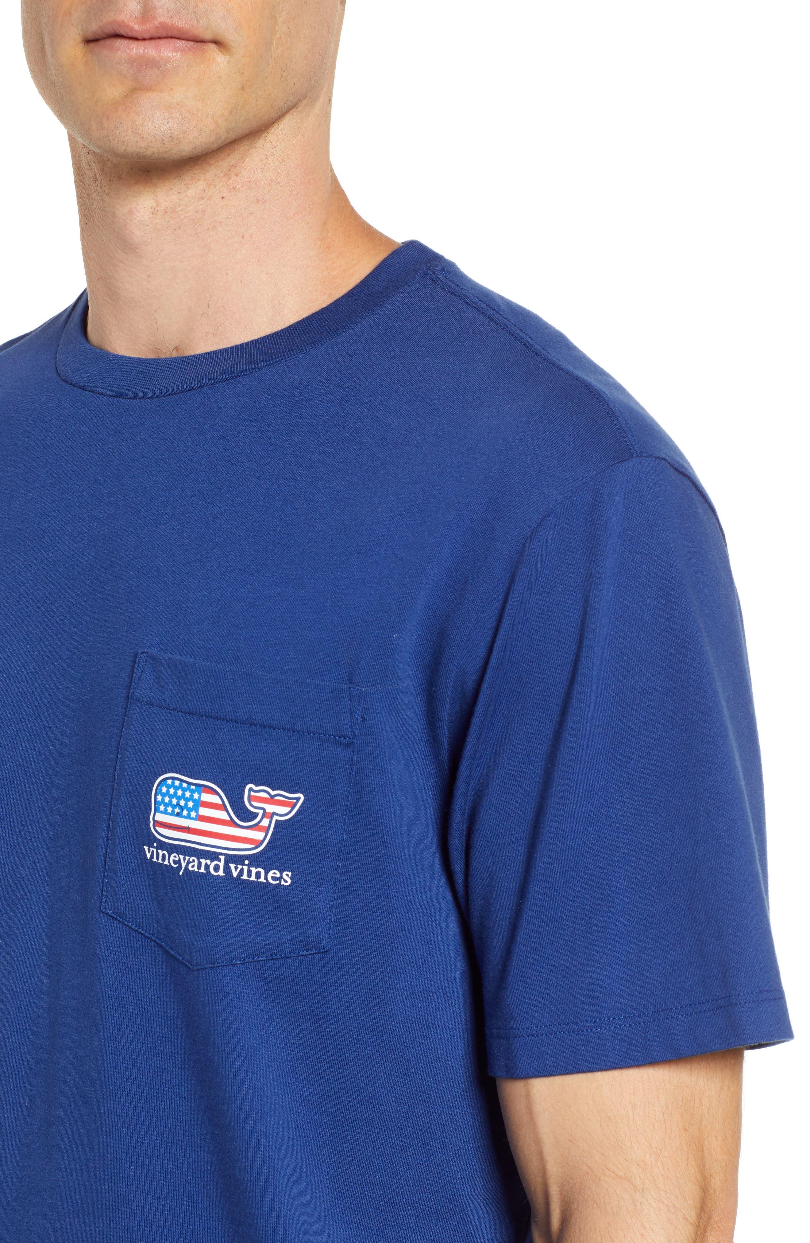 U.S. Tradition Pocket T-Shirt,                             Alternate thumbnail 4, color,                             400