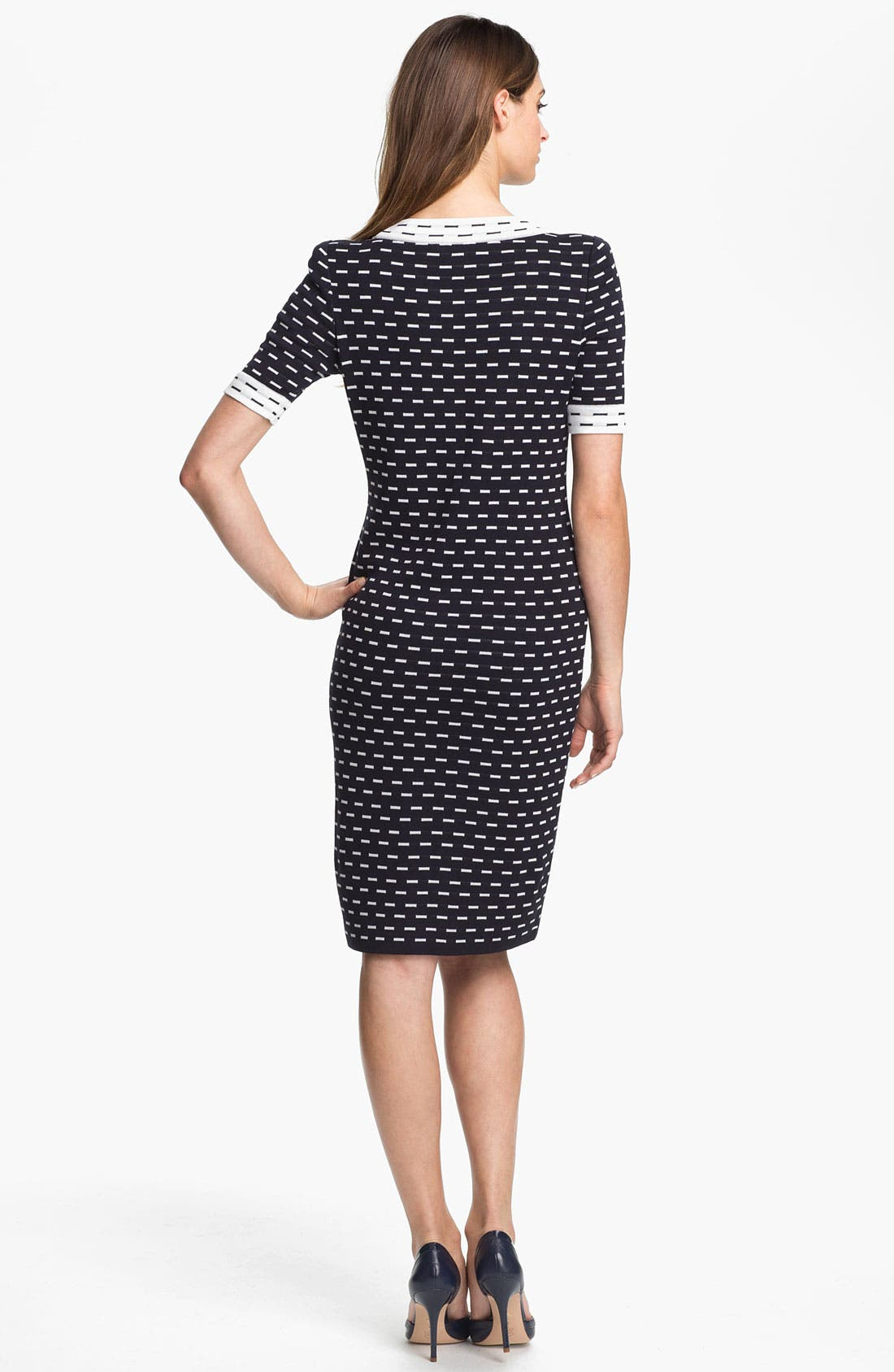 Exclusively Misook 'Dina' Dress,                             Alternate thumbnail 2, color,