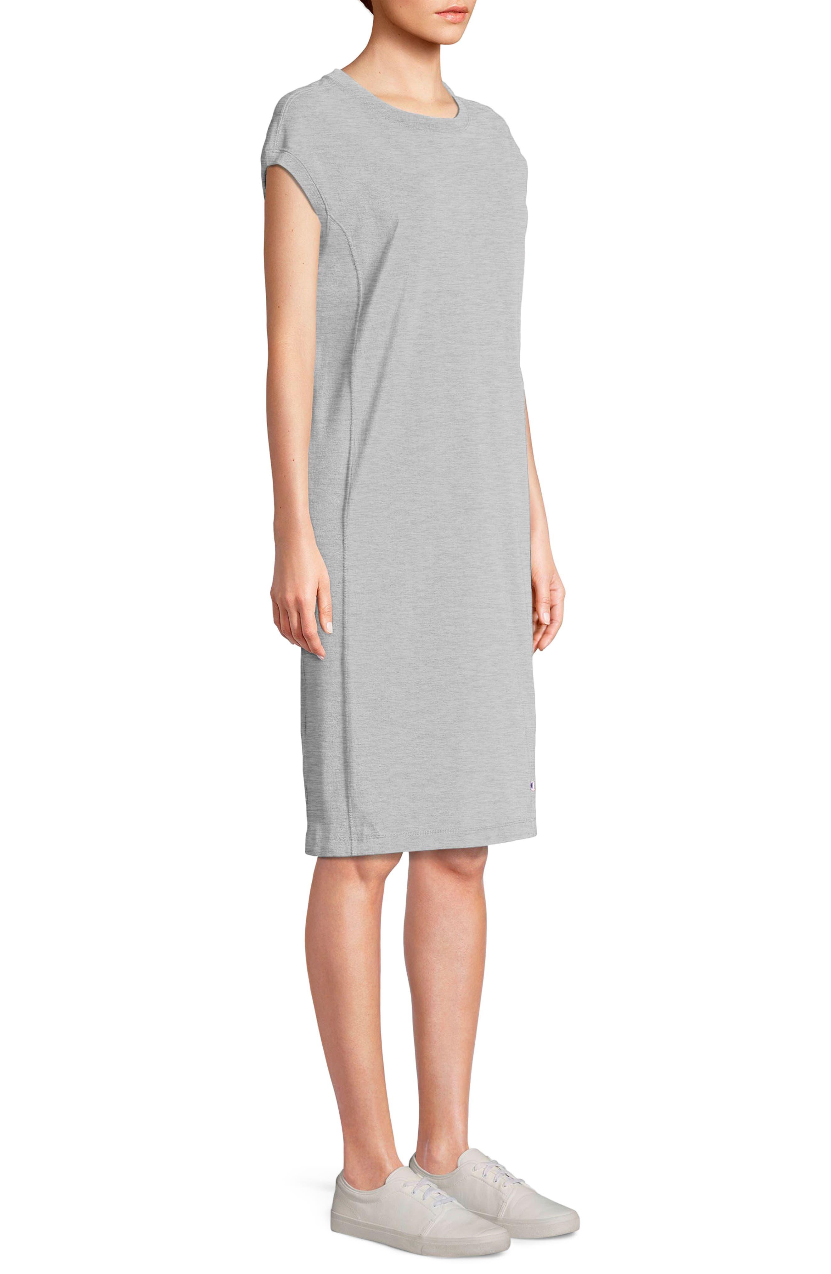 Heavyweight Jersey T-Shirt Dress,                         Main,                         color, 021