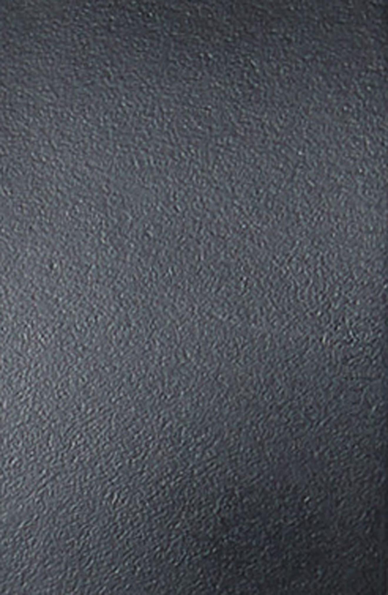 MICHAEL MICHAEL KORS,                             Calfskin Leather Belt,                             Alternate thumbnail 3, color,                             BLACK