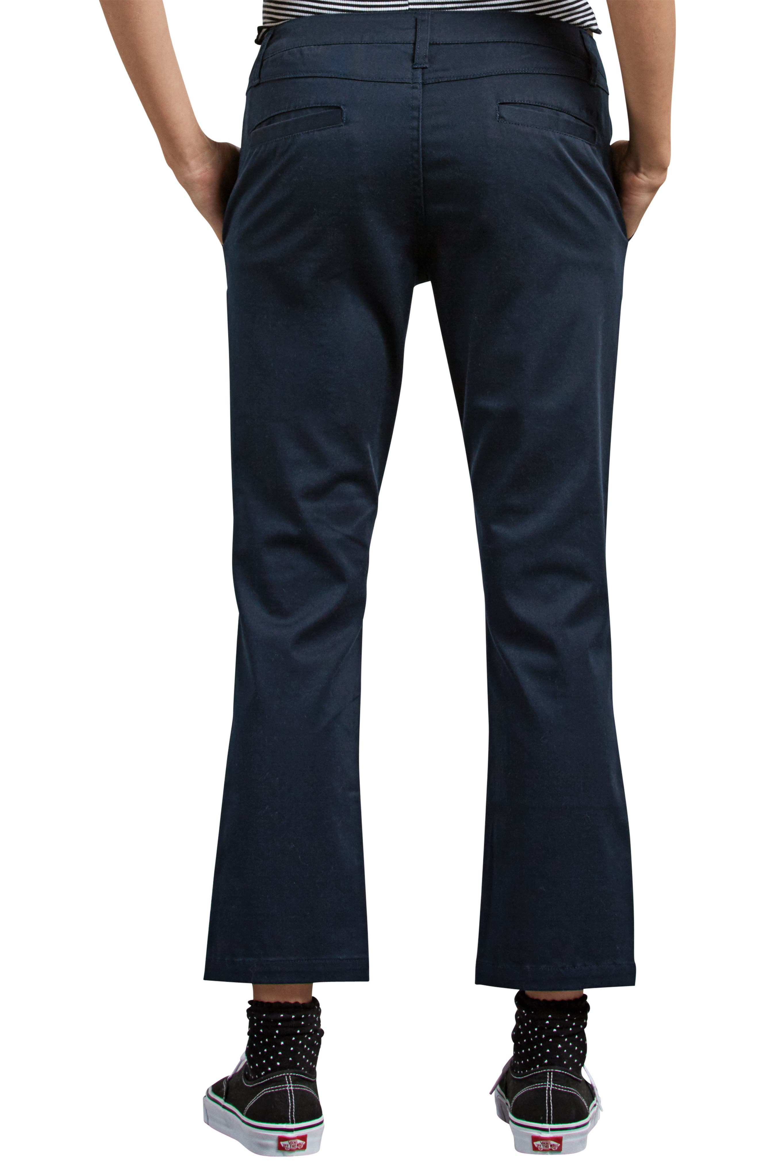 Frochickie Crop Pants,                             Alternate thumbnail 2, color,                             NAVY