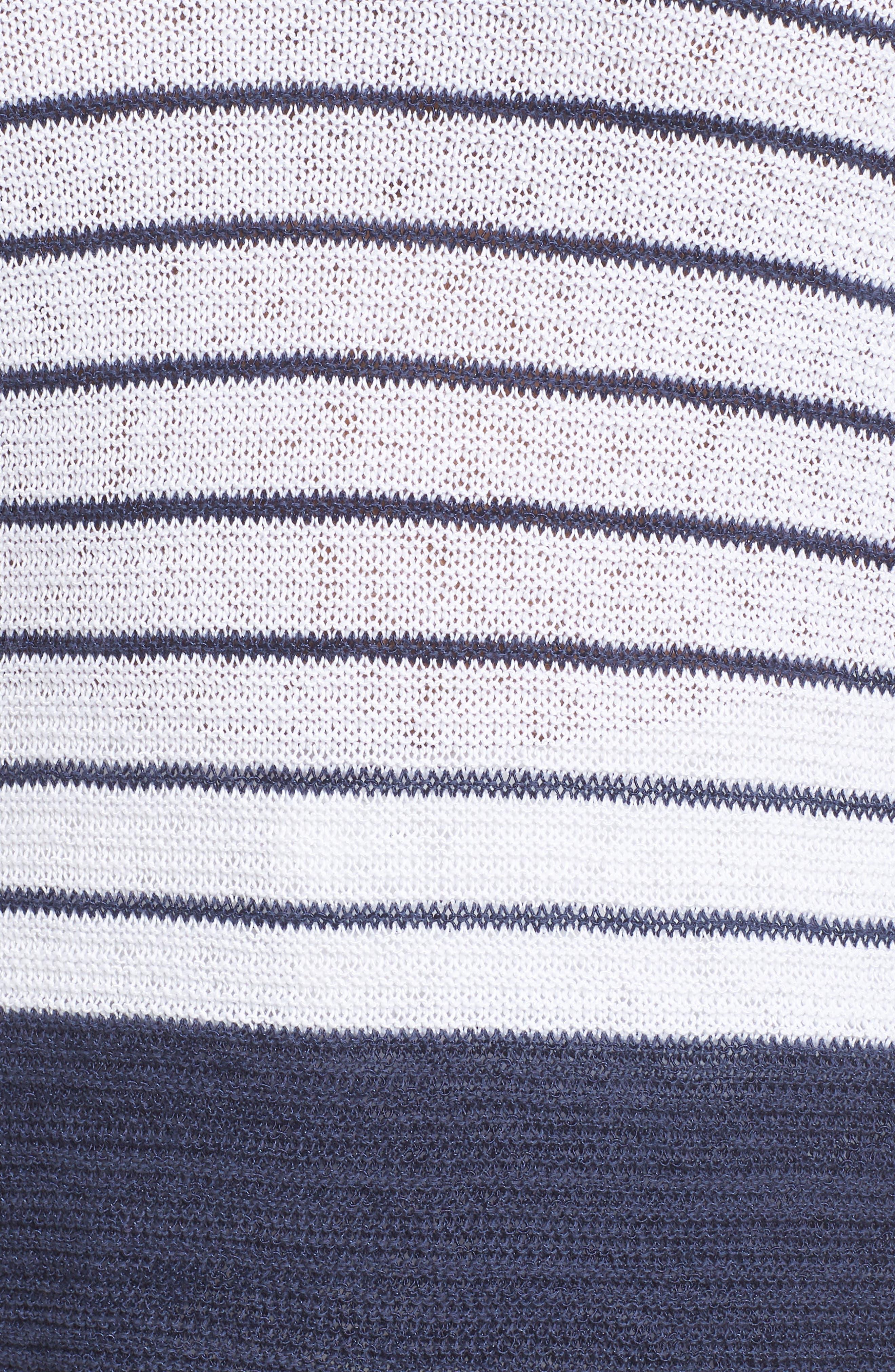 Crossroads Knit Top,                             Alternate thumbnail 6, color,                             RICH INDIGO