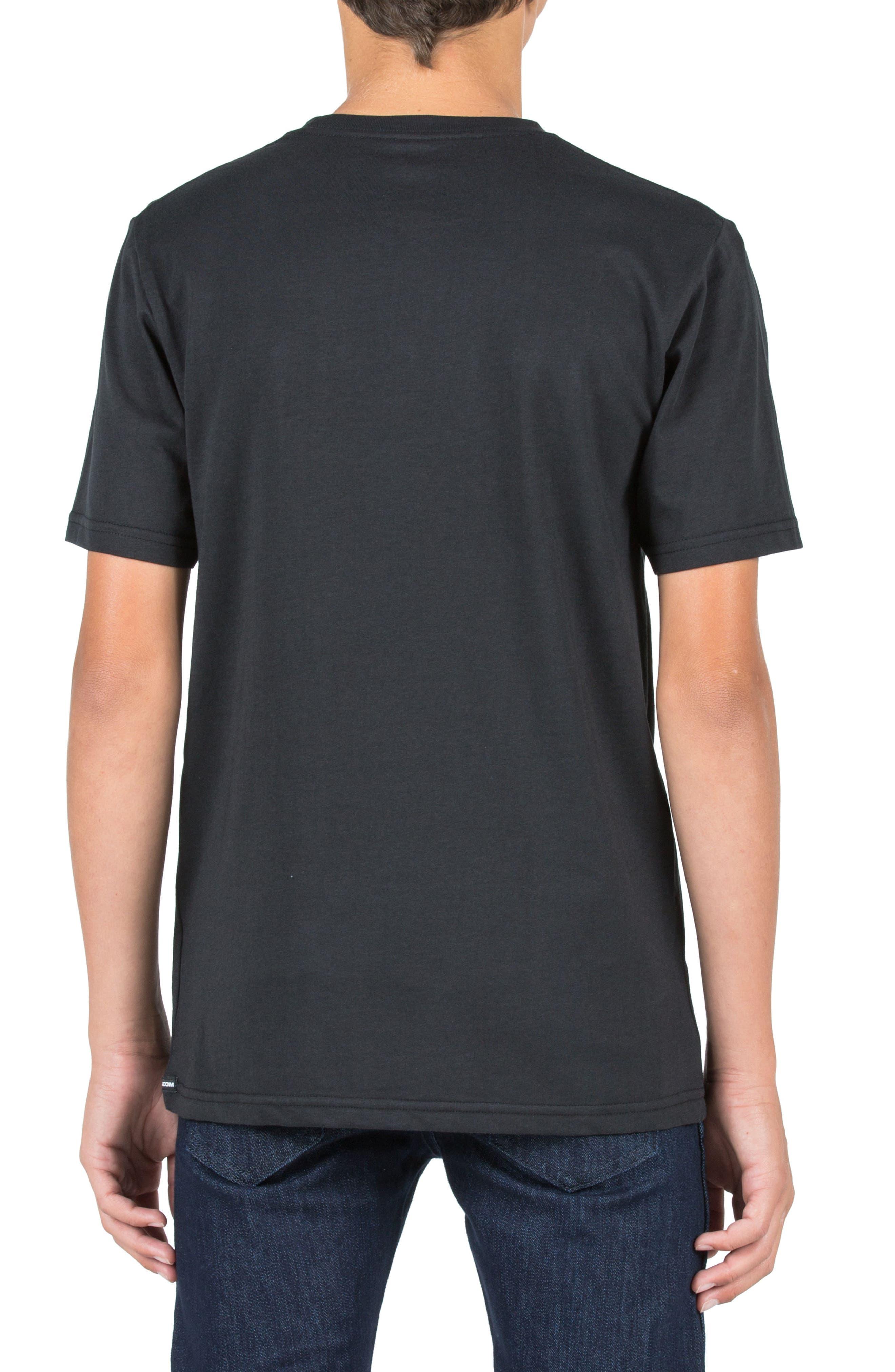 T Mark Graphic T-Shirt,                             Alternate thumbnail 2, color,                             001