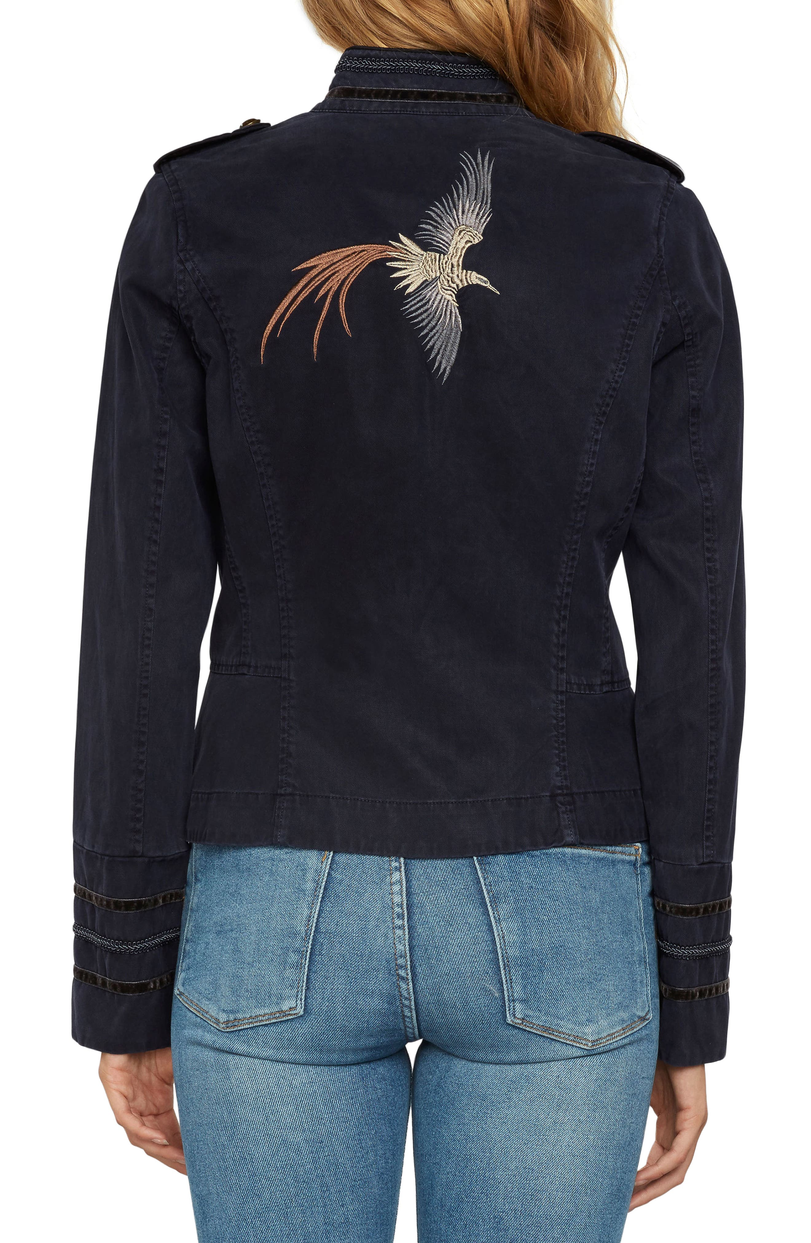 Embroidered Twill Jacket,                             Alternate thumbnail 2, color,                             415