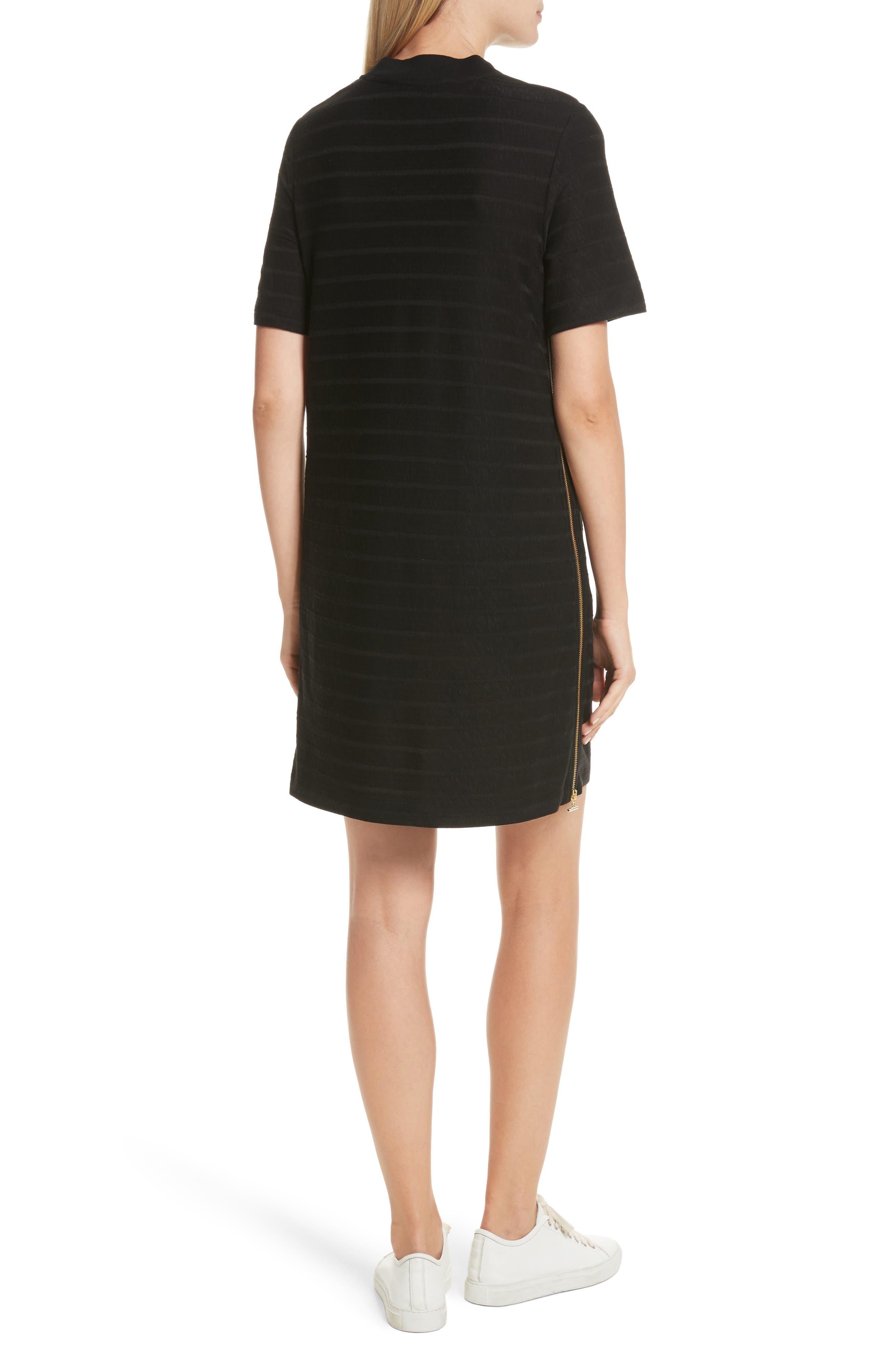 T-Shirt Dress,                             Alternate thumbnail 2, color,                             001