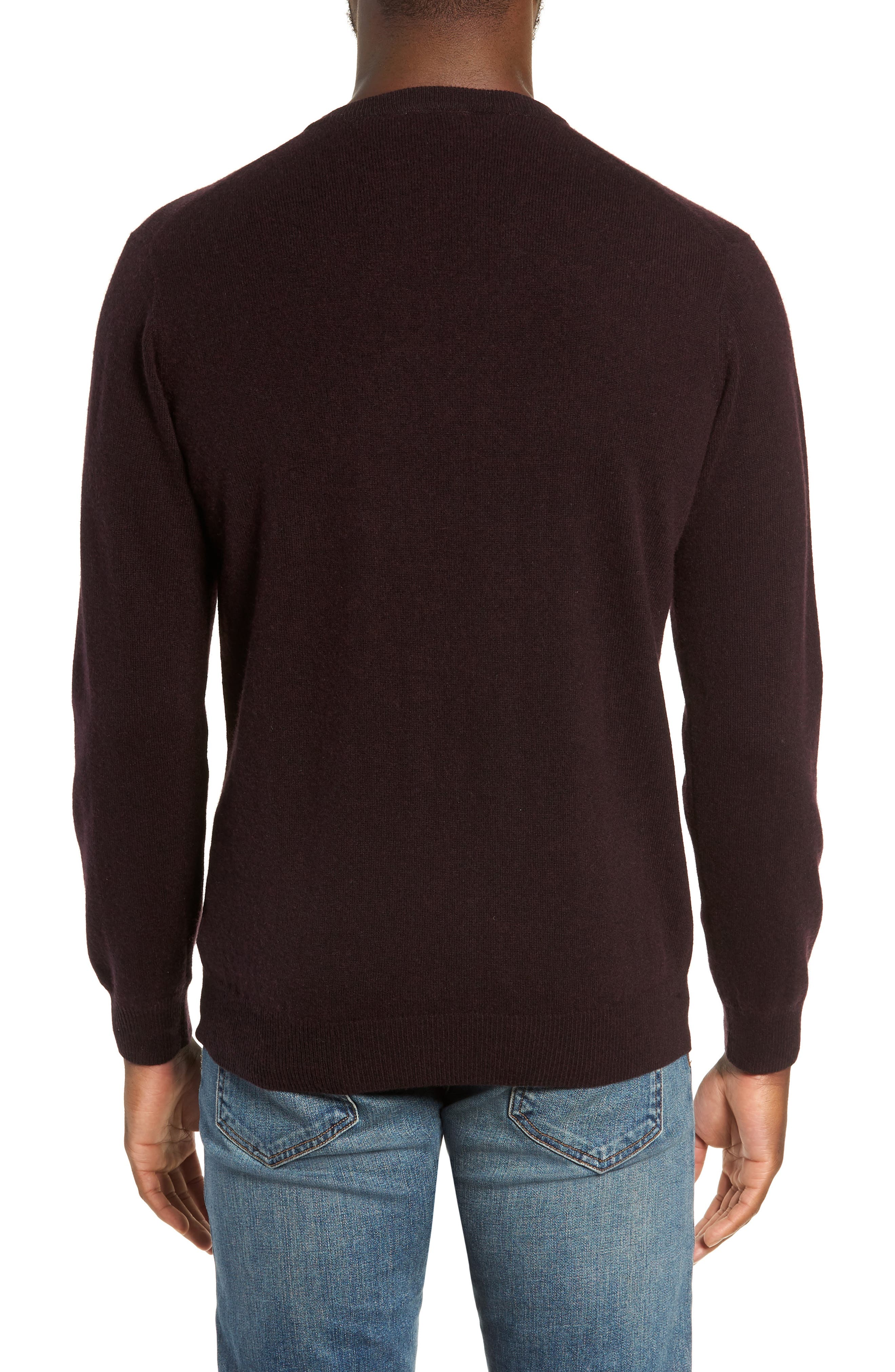 Queenstown Wool & Cashmere Sweater,                             Alternate thumbnail 2, color,                             BLACK FIG