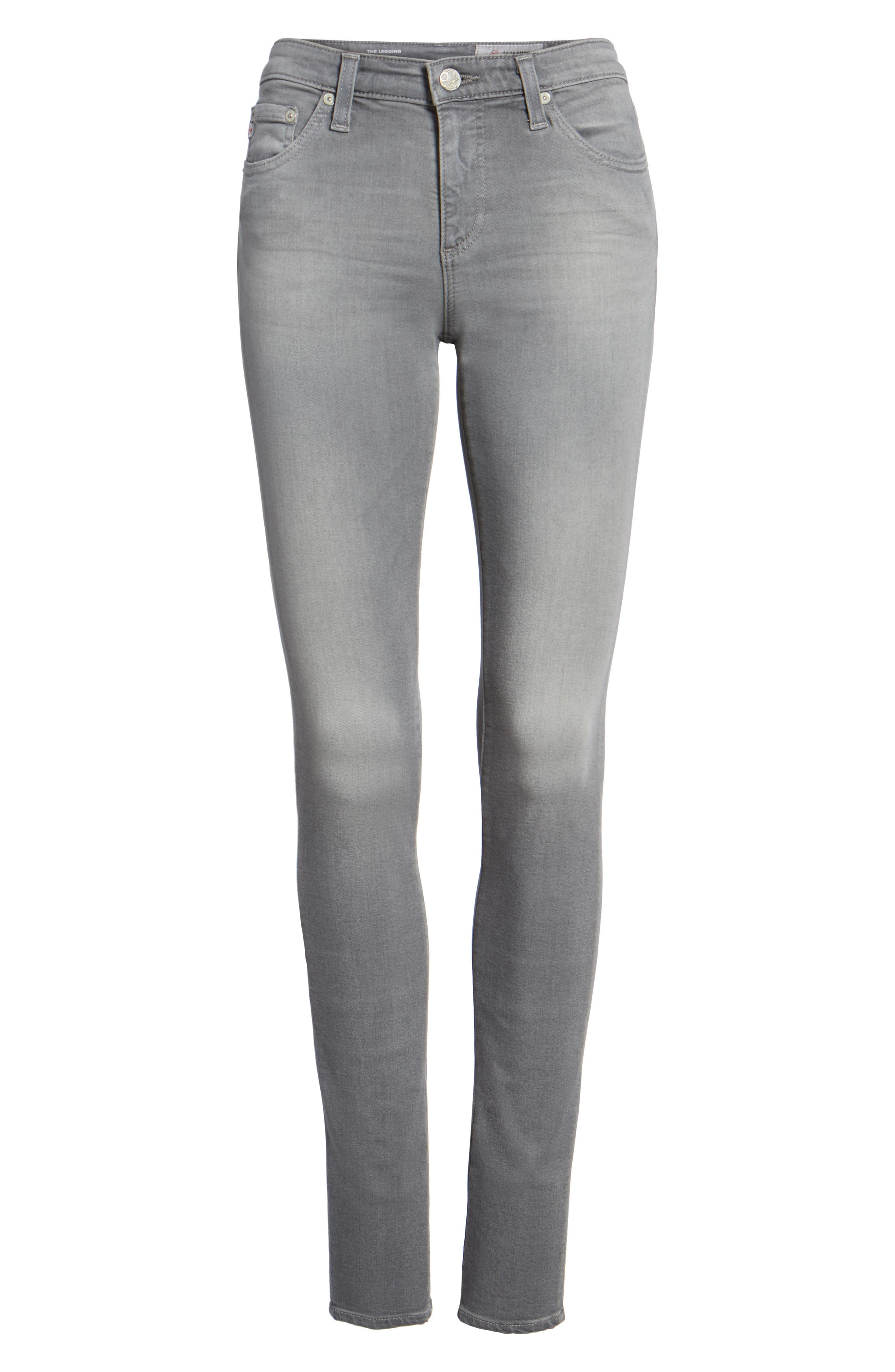 The Legging Super Skinny Jeans,                             Alternate thumbnail 6, color,                             026