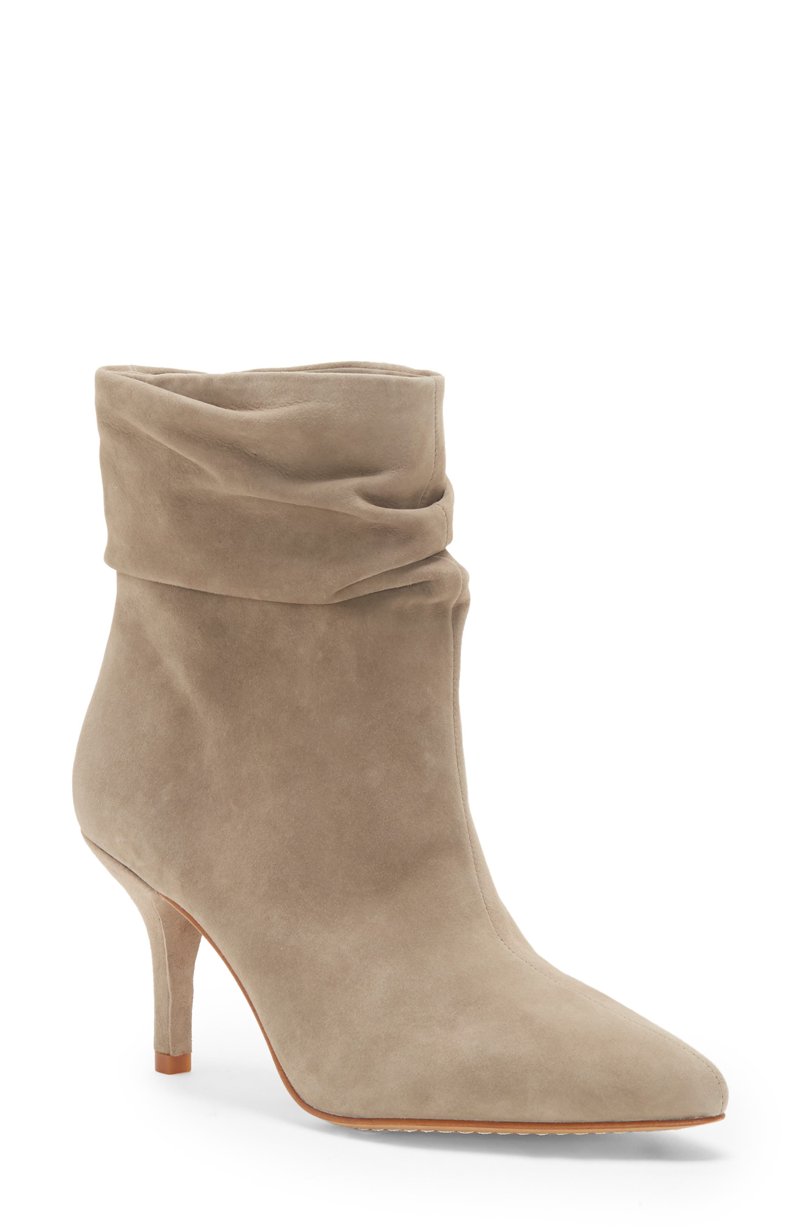 Abrianna Bootie,                             Main thumbnail 1, color,                             FOXY LEATHER