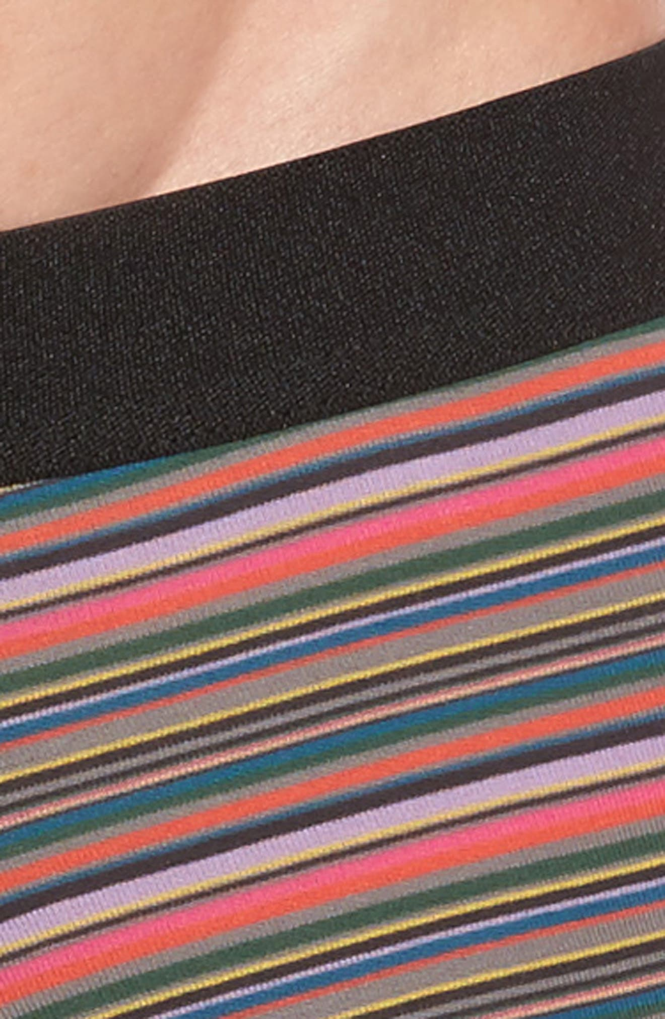 Fine Stripe Stretch Cotton Trunks,                             Alternate thumbnail 7, color,
