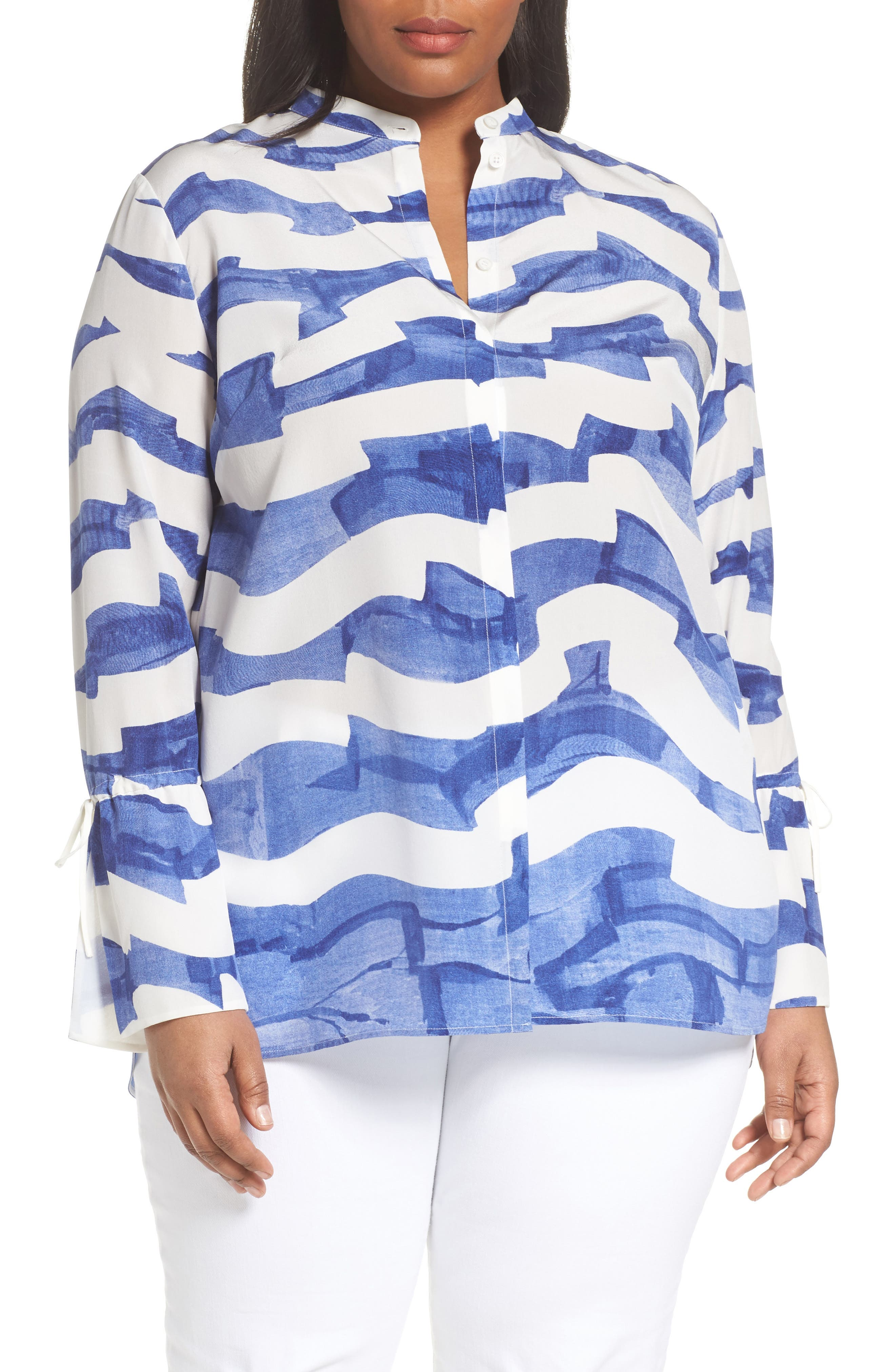 Desra Silk Blouse,                         Main,                         color, 108