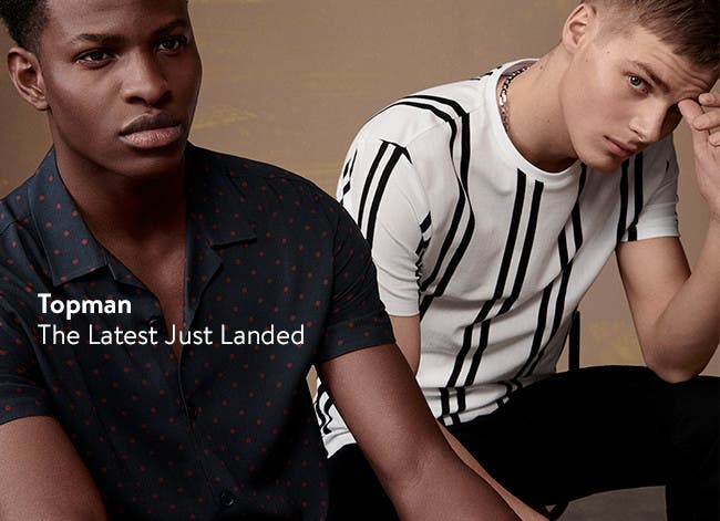 The latest from Topman just landed.
