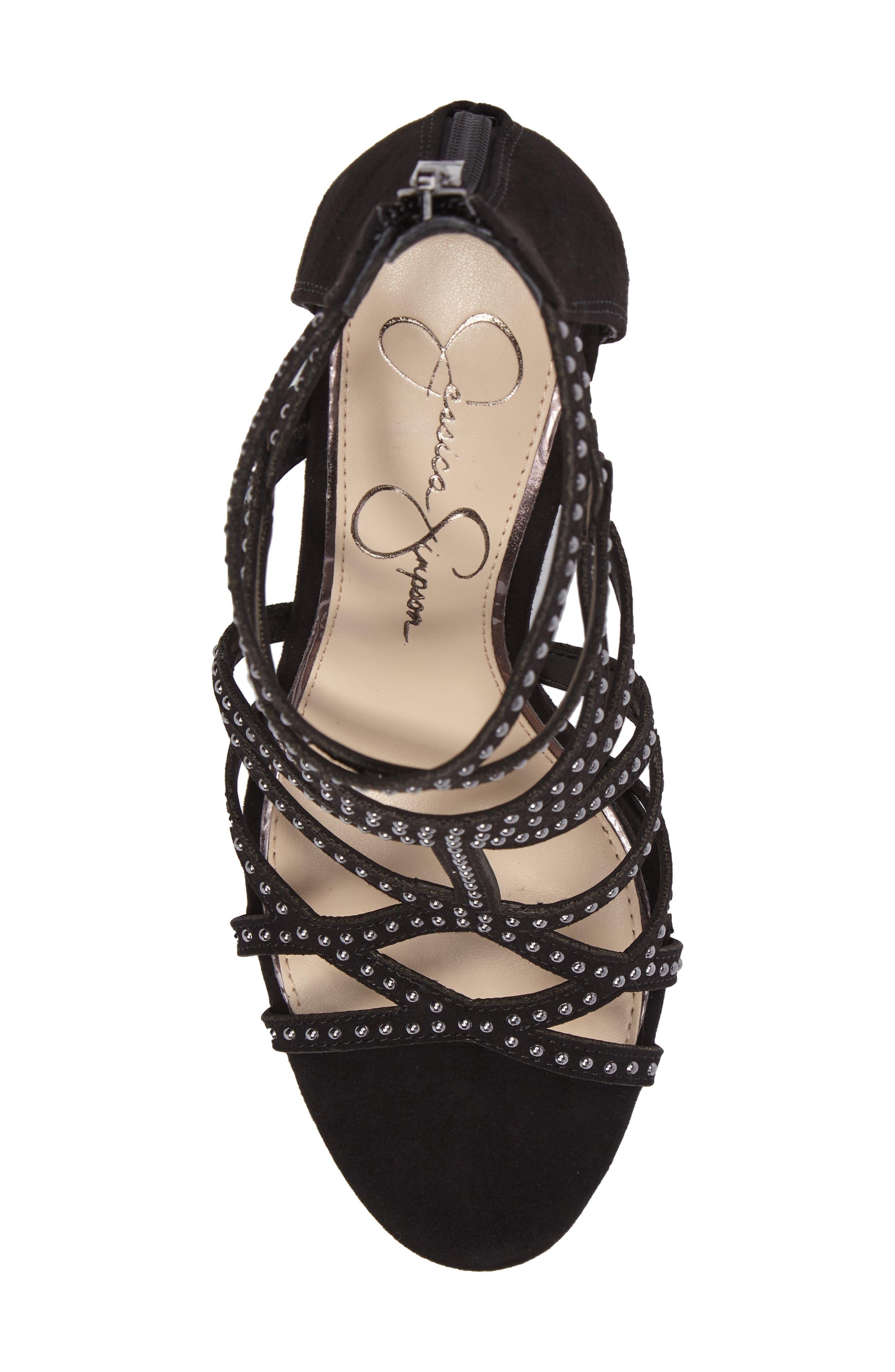 Emmi Block Heel Sandal,                             Alternate thumbnail 5, color,
