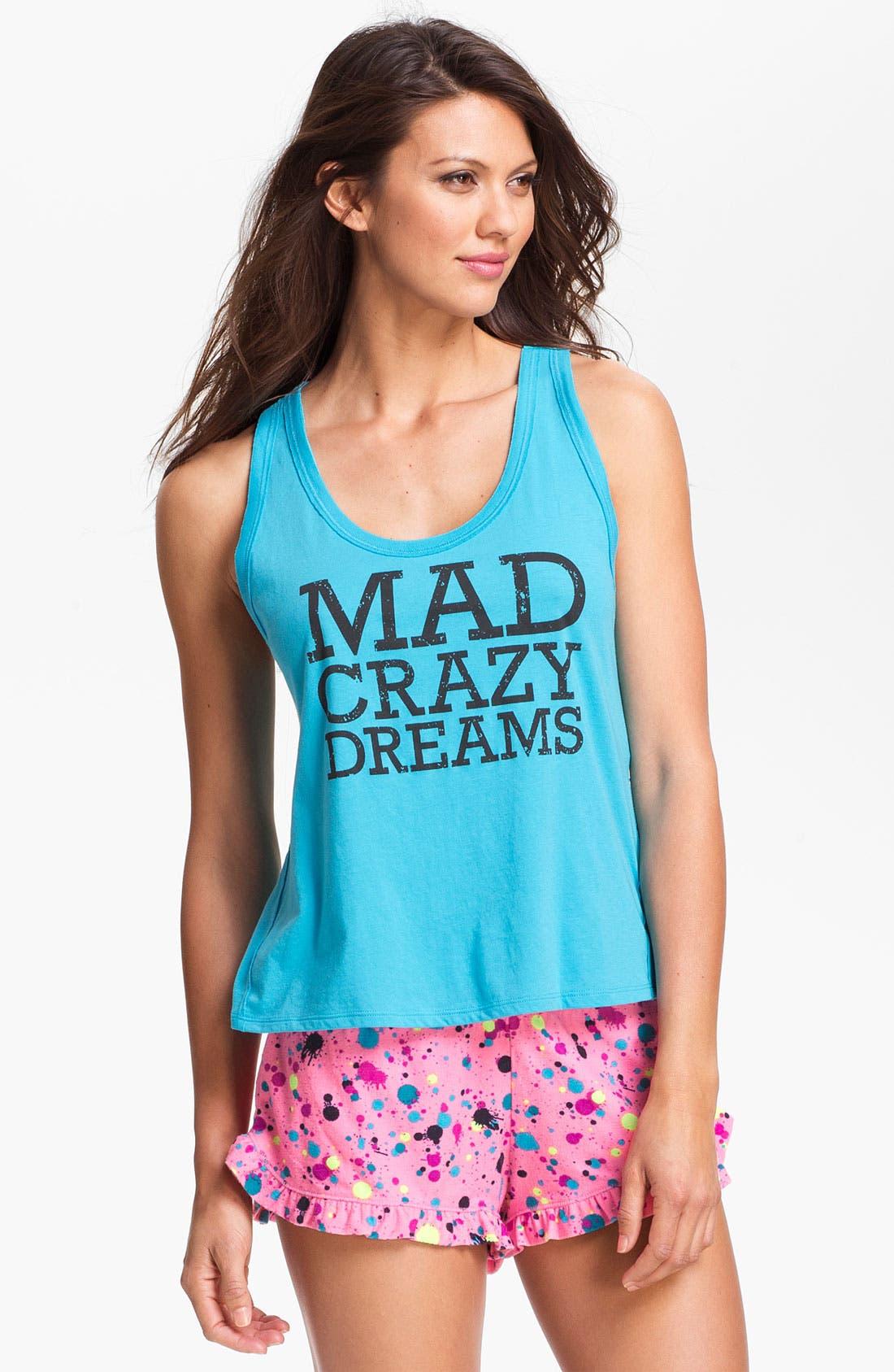 'Mad Crazy Dreams' Tank,                             Main thumbnail 7, color,