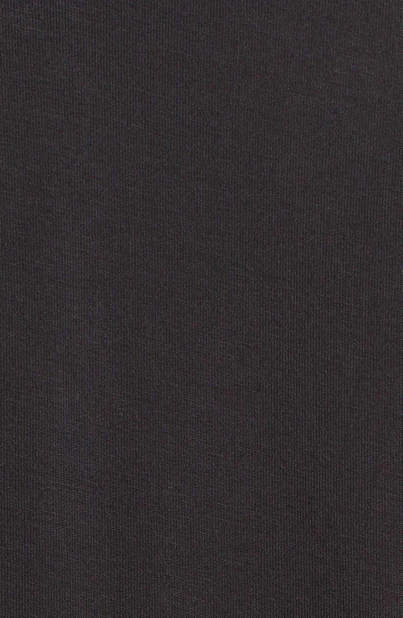 Amelia Short Pajamas,                             Alternate thumbnail 5, color,                             BLACK