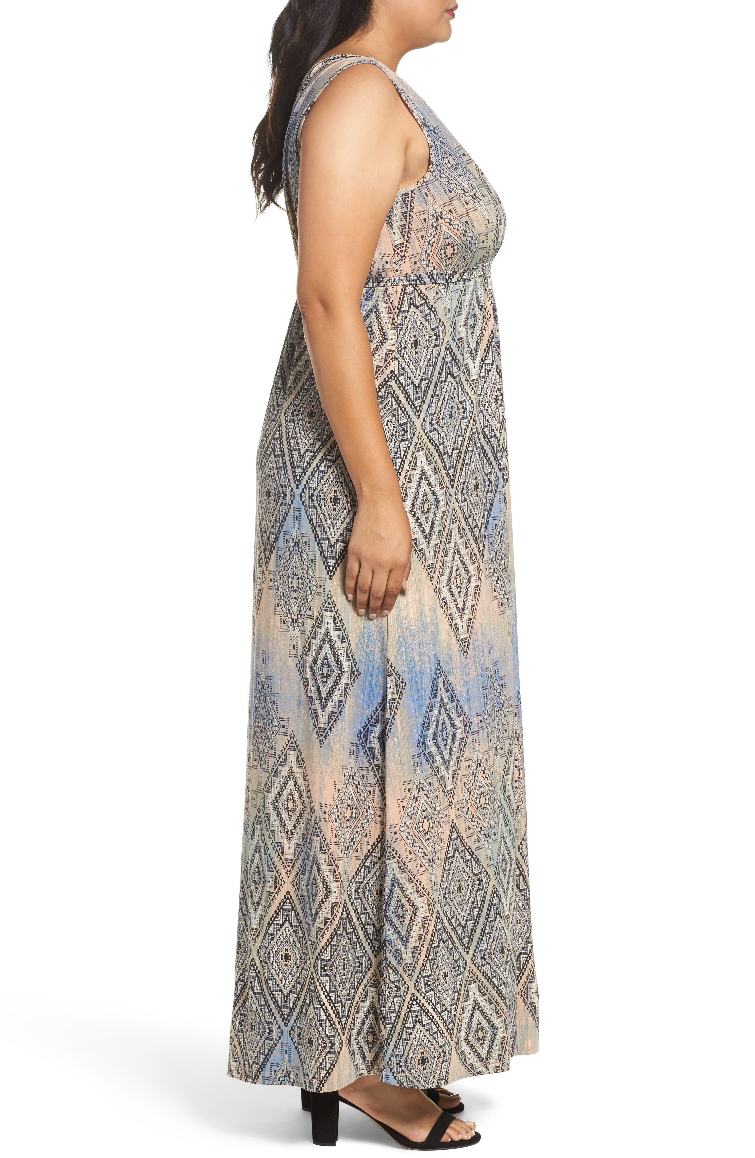 Grecia Sleeveless Jersey Maxi Dress,                             Alternate thumbnail 28, color,