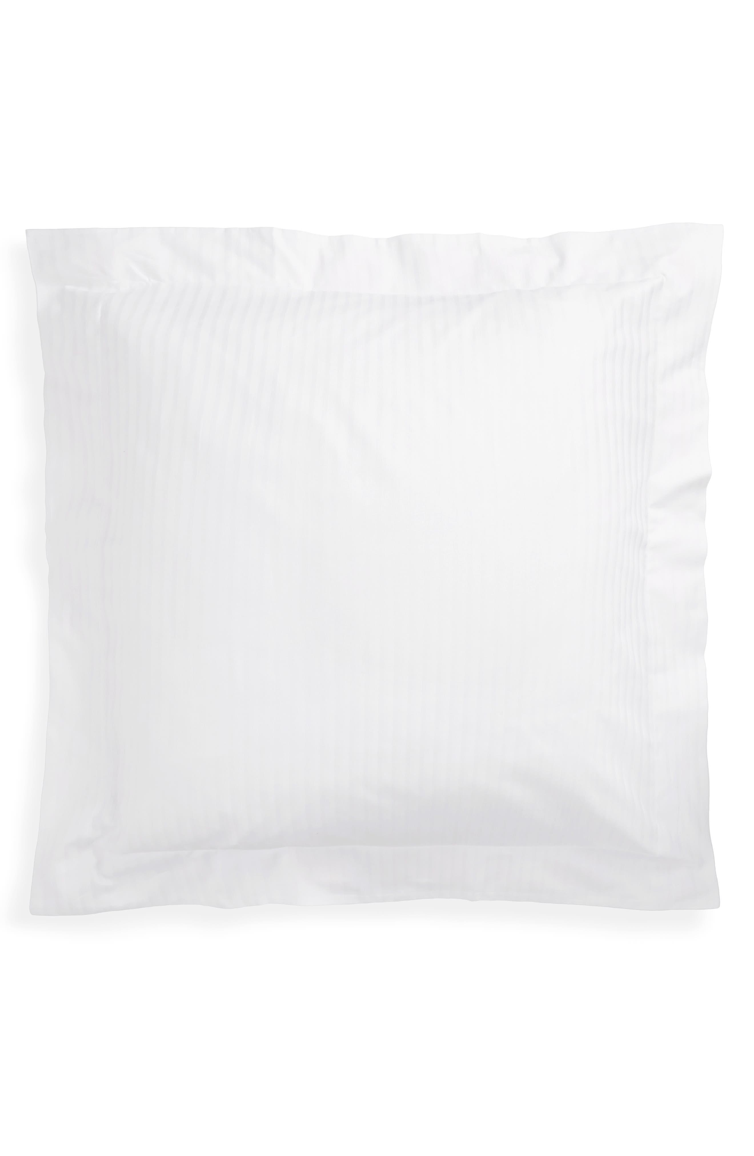 230 Thread Count Pillow Sham,                         Main,                         color, WHI