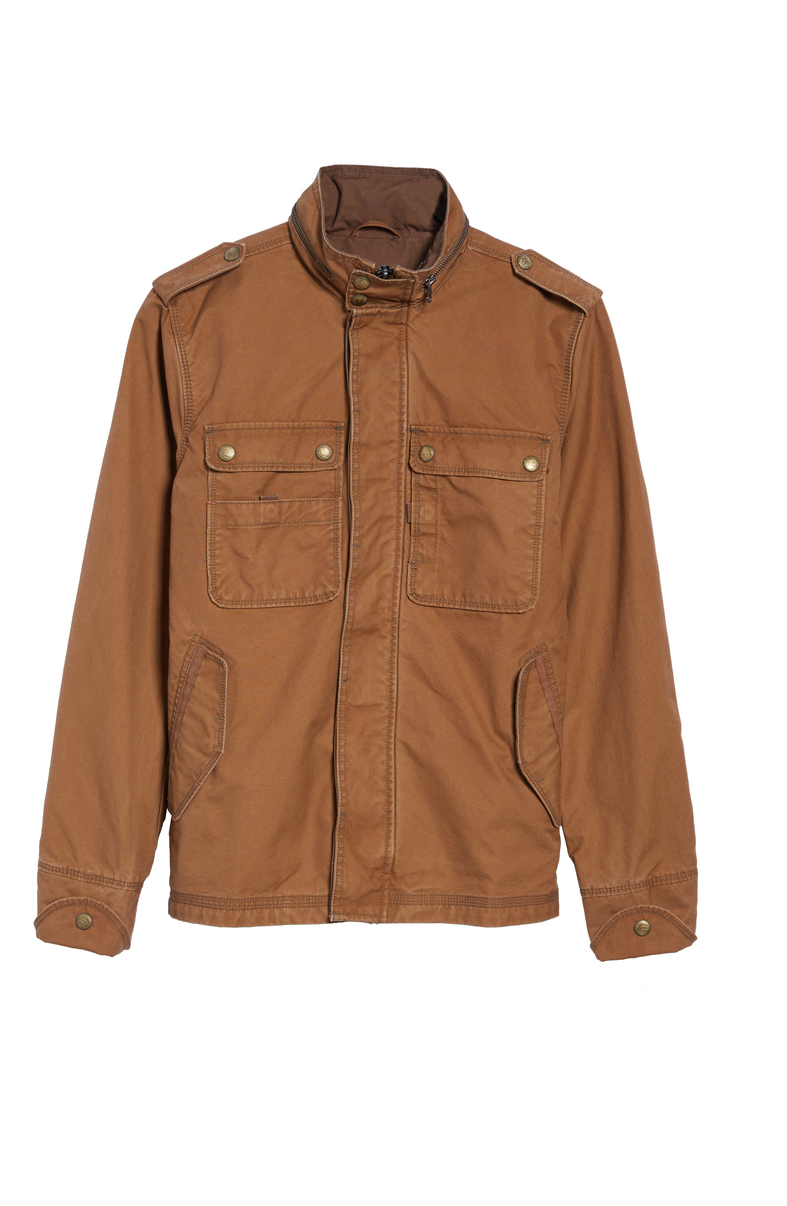 'Paxton' Military Jacket with Stowaway Hood,                             Alternate thumbnail 15, color,