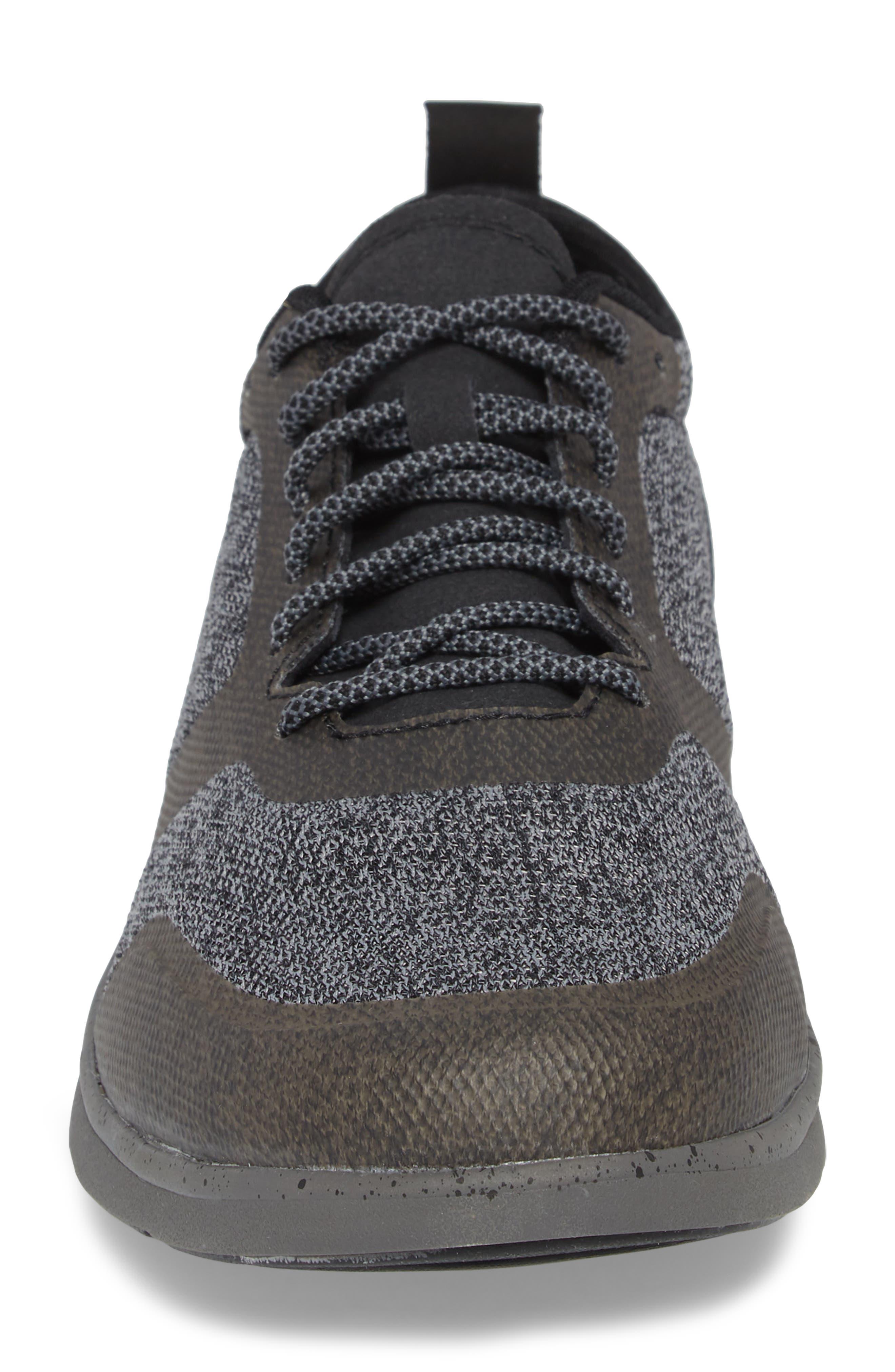Worldwide Stuart MX Sneaker,                             Alternate thumbnail 4, color,                             BLACK