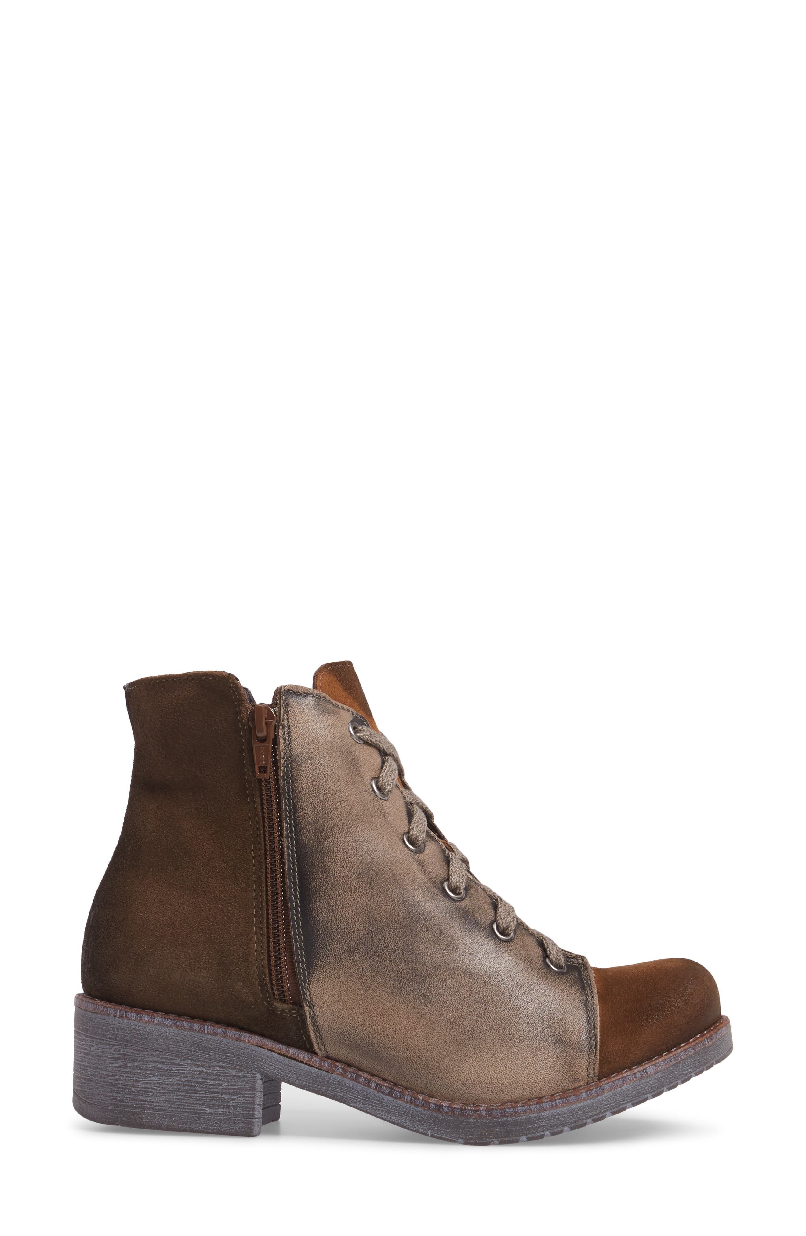 Groovy Lace Up Bootie,                             Alternate thumbnail 6, color,