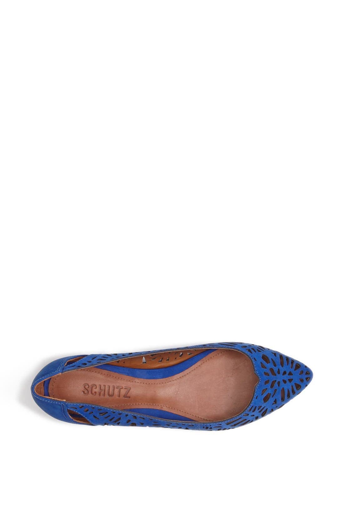 'Cicely' Perforated Flat,                             Alternate thumbnail 4, color,