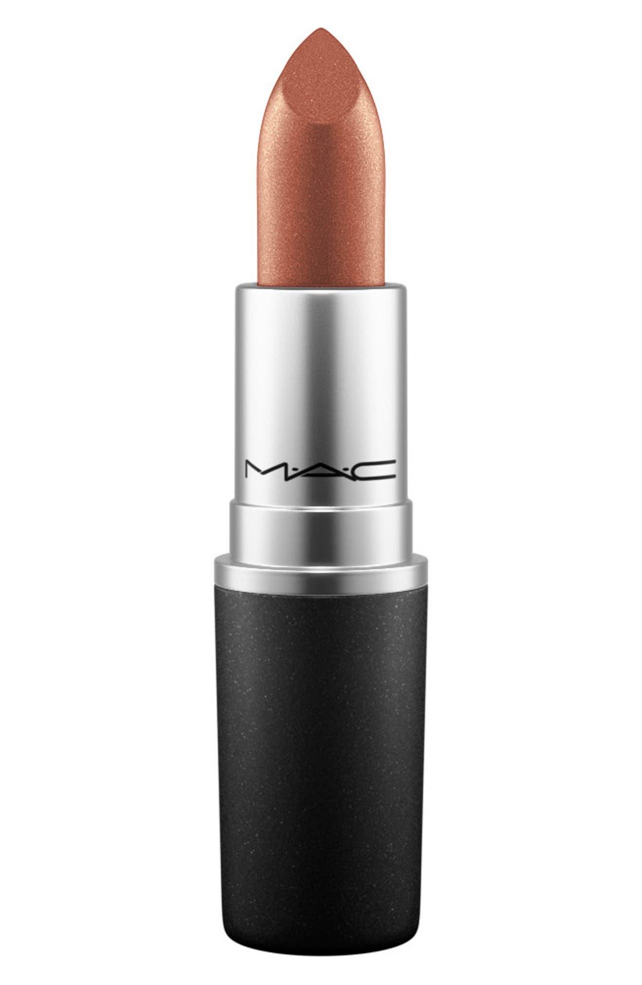 MAC Nude Lipstick,                             Main thumbnail 1, color,                             O (F)