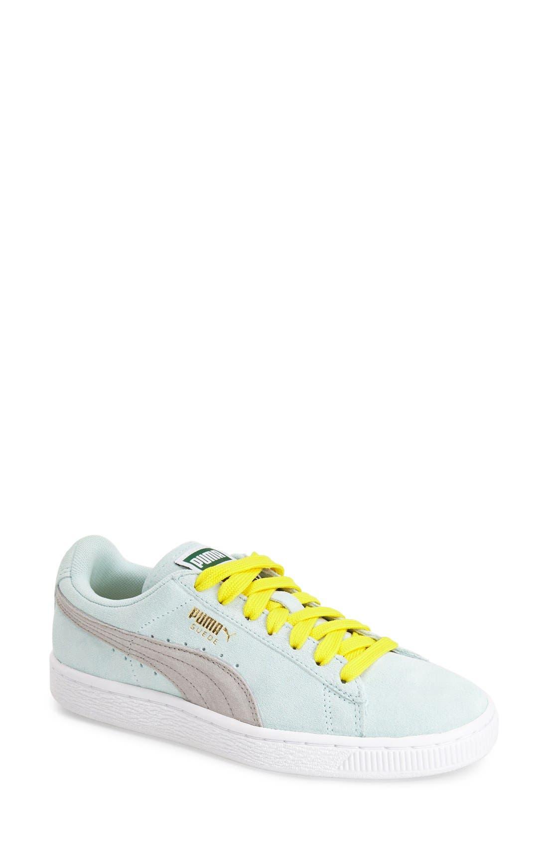 Suede Sneaker,                             Main thumbnail 15, color,