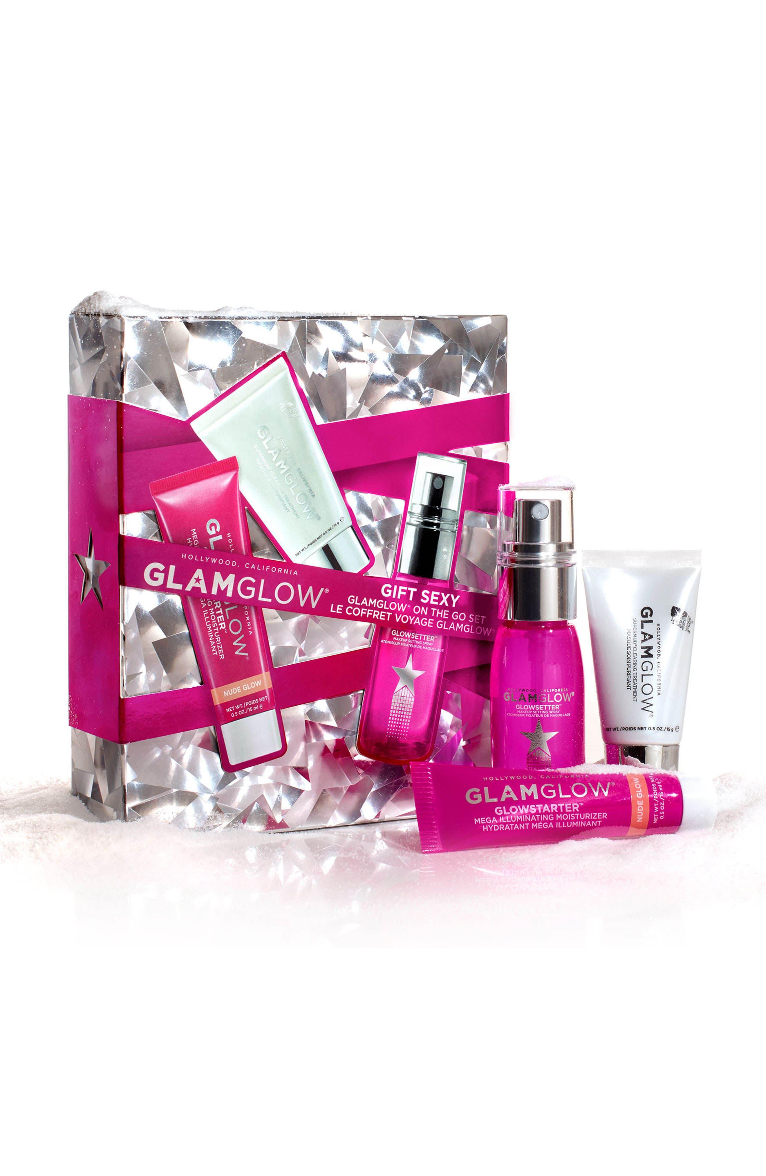 GLAMGLOW Let it Glow! Travel Set,                             Alternate thumbnail 2, color,                             000