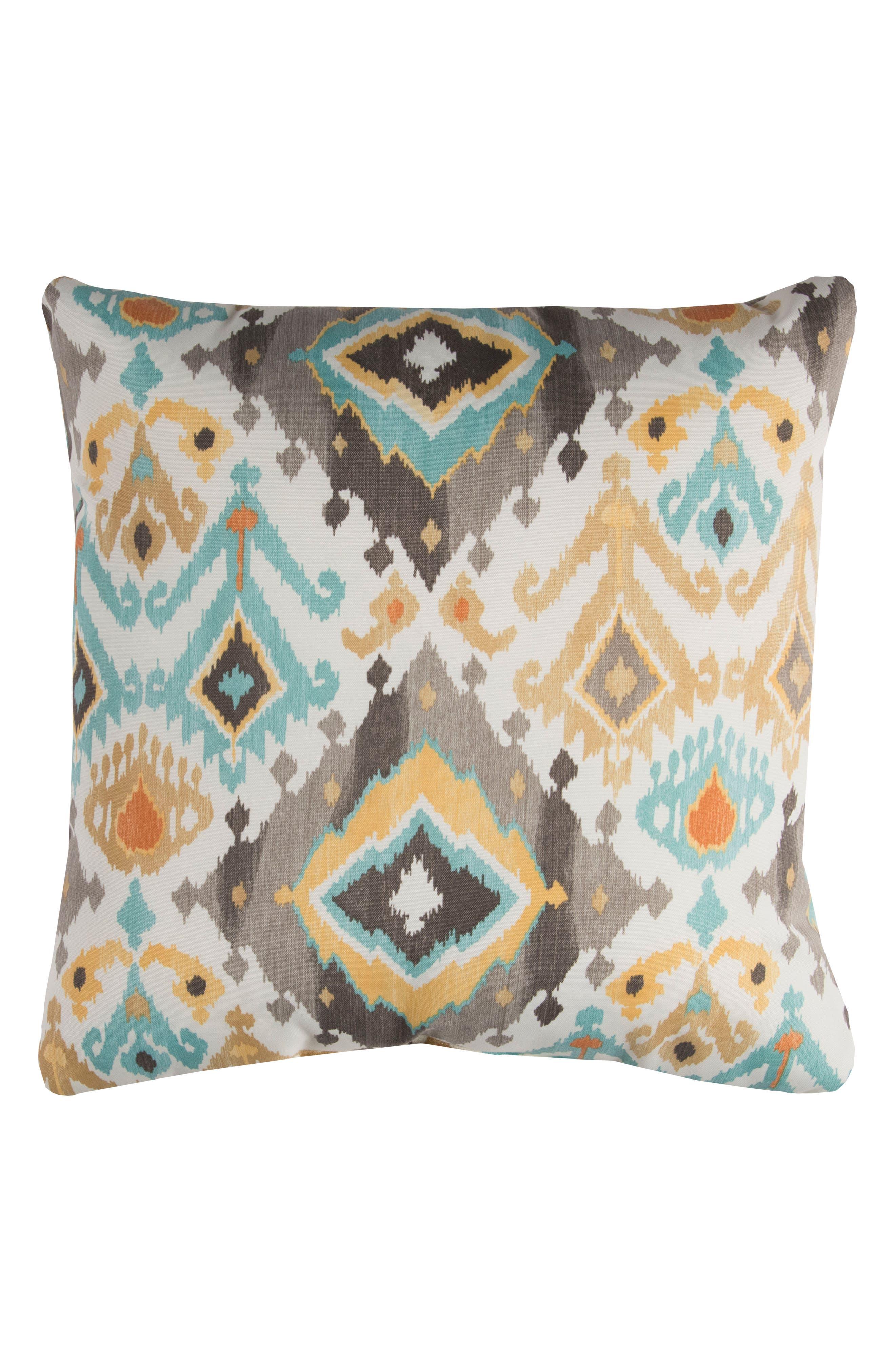 Chevron Outdoor Pillow,                             Main thumbnail 1, color,
