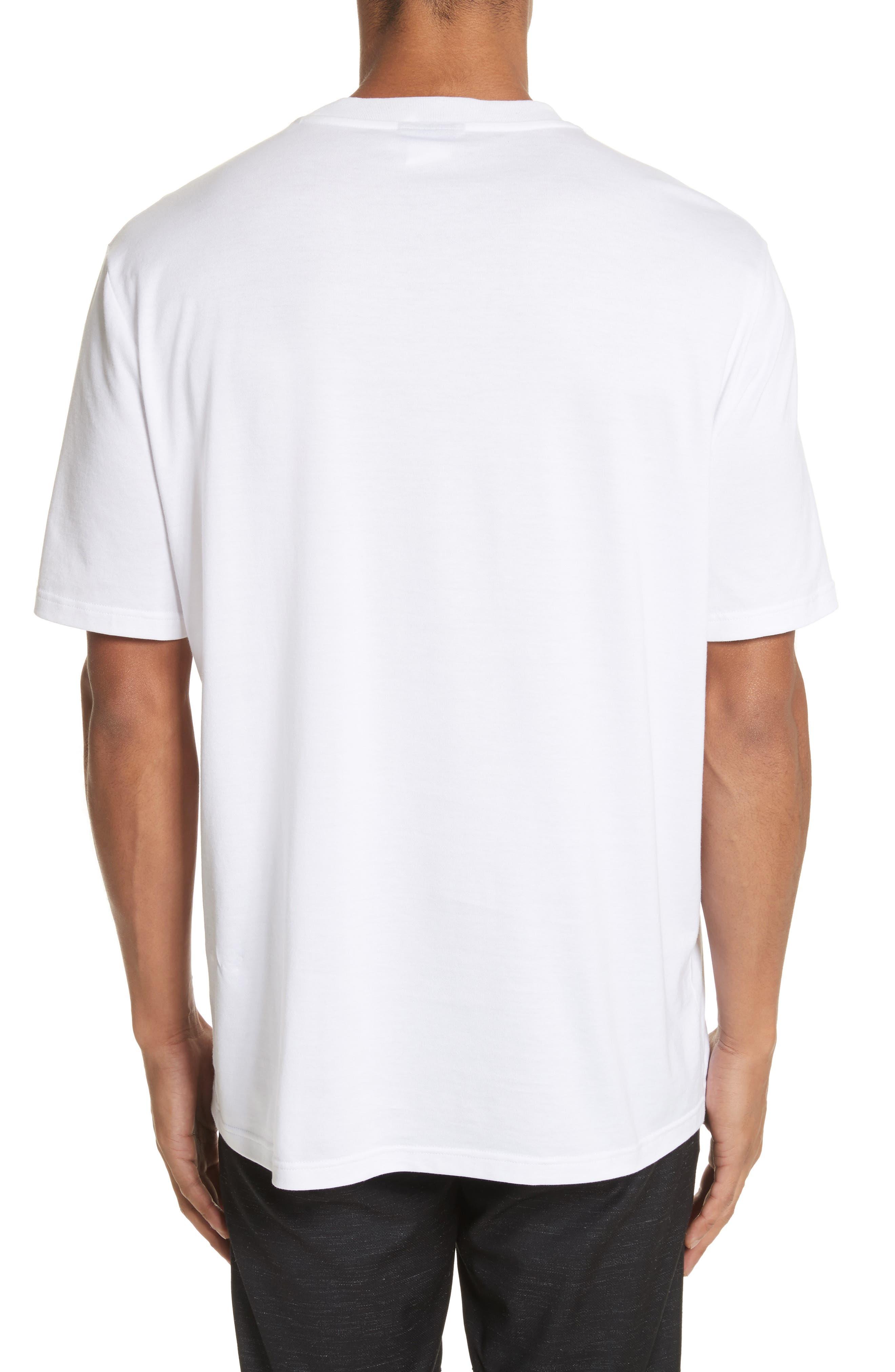 Dinosaur Patch T-Shirt,                             Alternate thumbnail 2, color,                             100