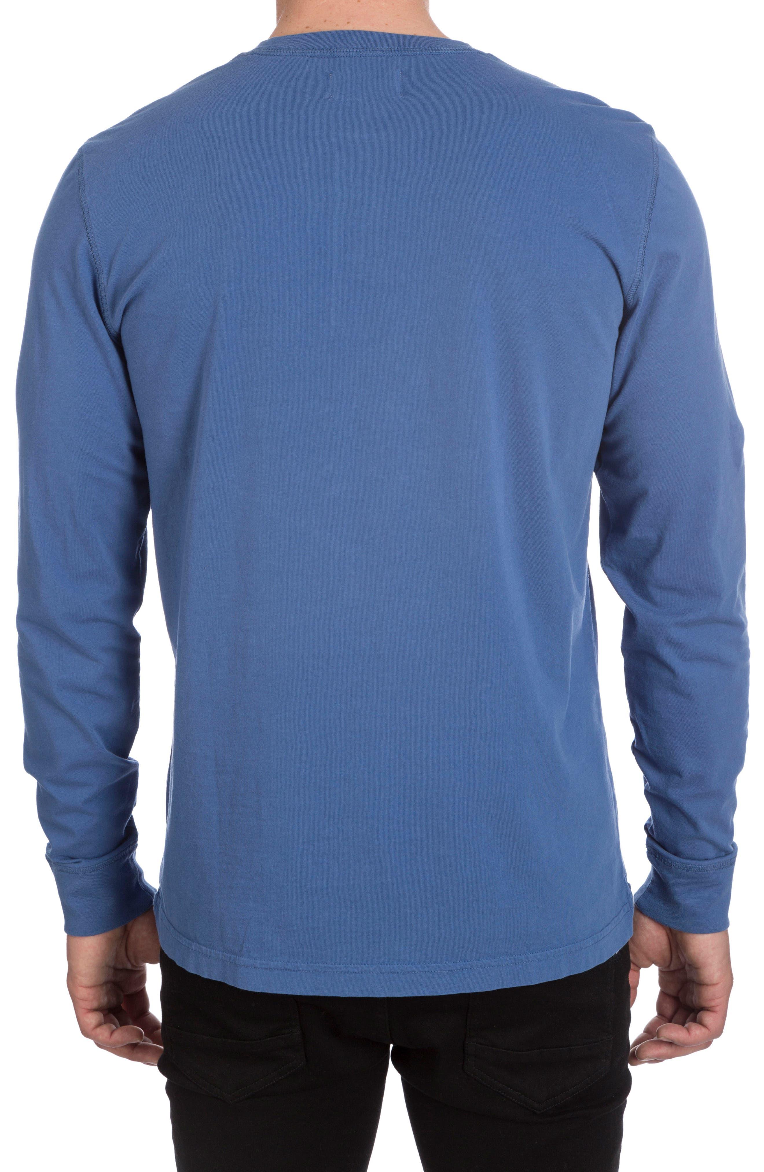Biltmore Henley T-Shirt,                             Alternate thumbnail 6, color,