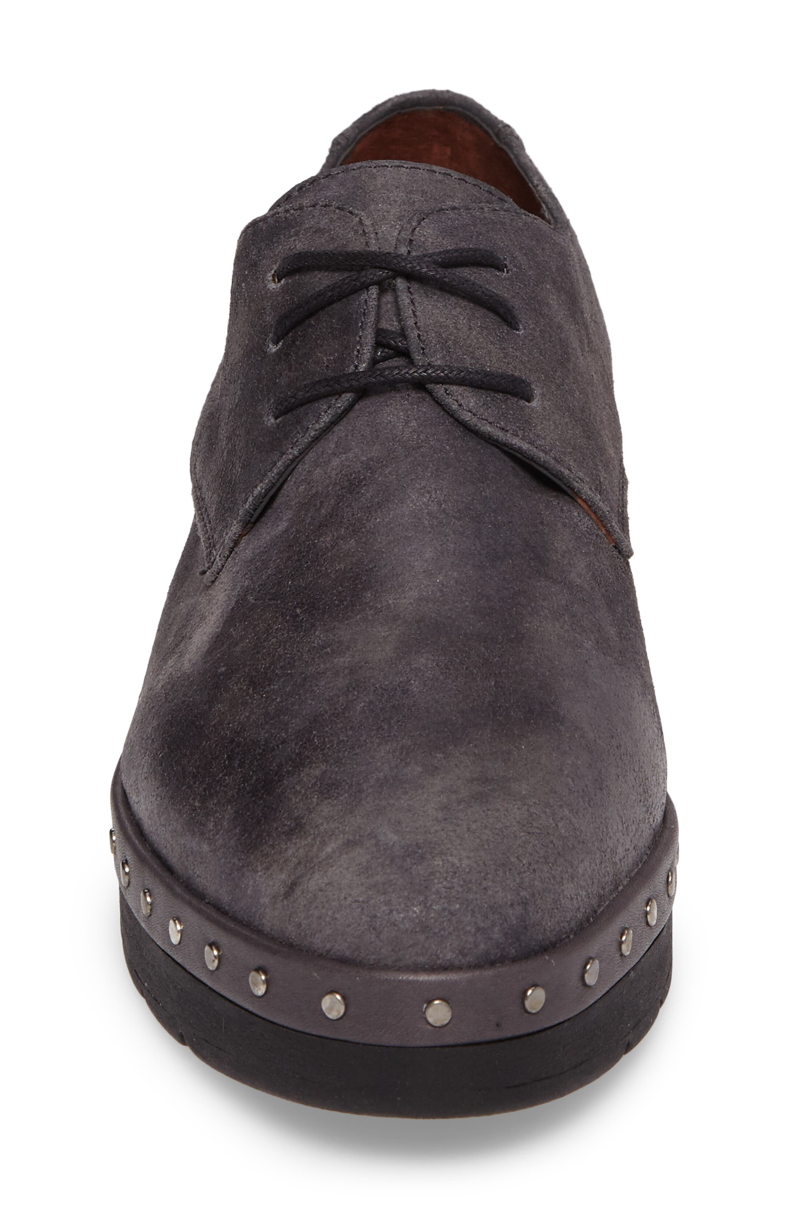 Abbot Oxford,                             Alternate thumbnail 4, color,                             BRUT GREY LEATHER