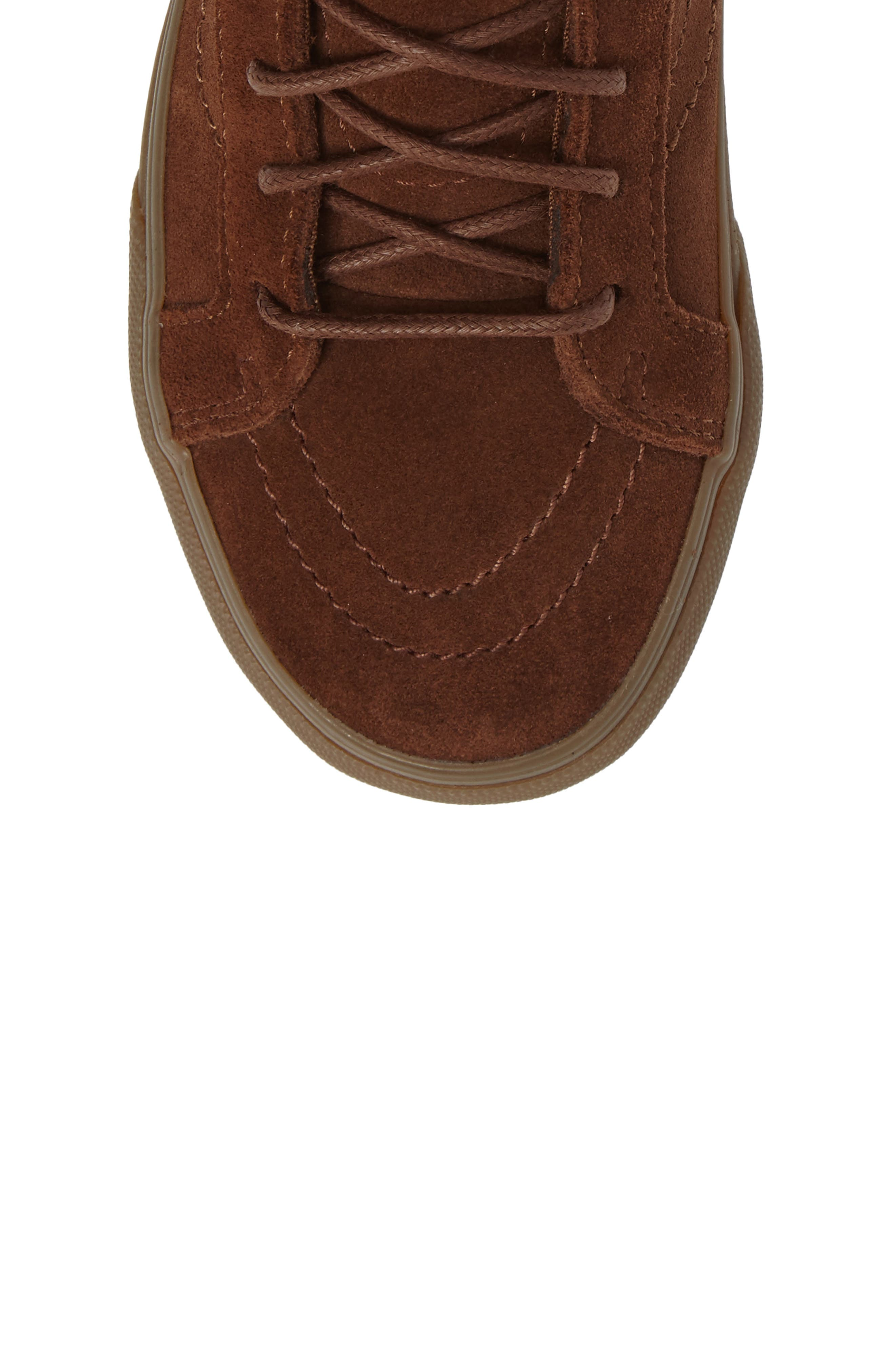 SK8-Hi Moc Sneaker,                             Alternate thumbnail 5, color,                             200