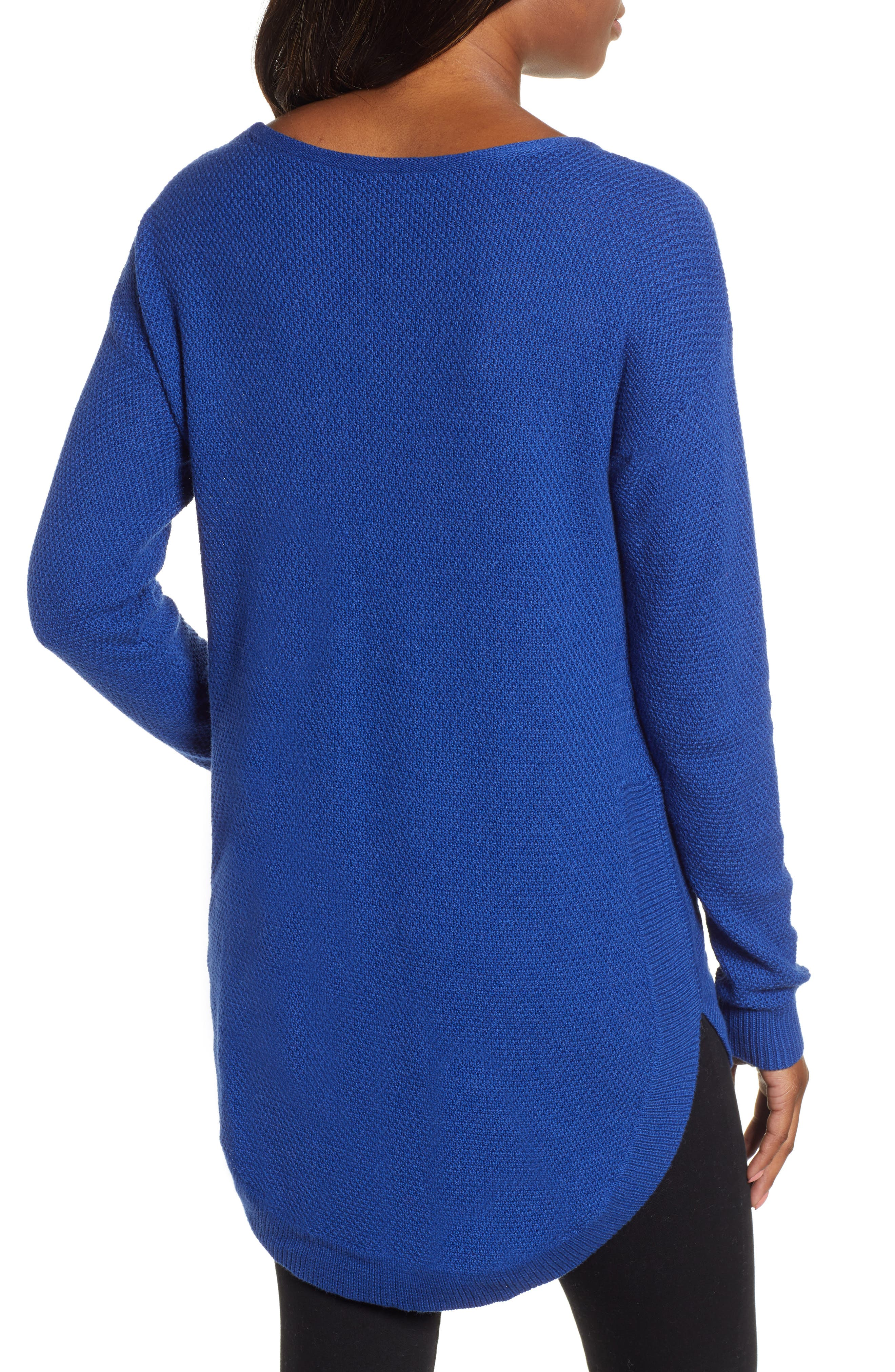 Texture Knit Tunic,                             Alternate thumbnail 2, color,                             401