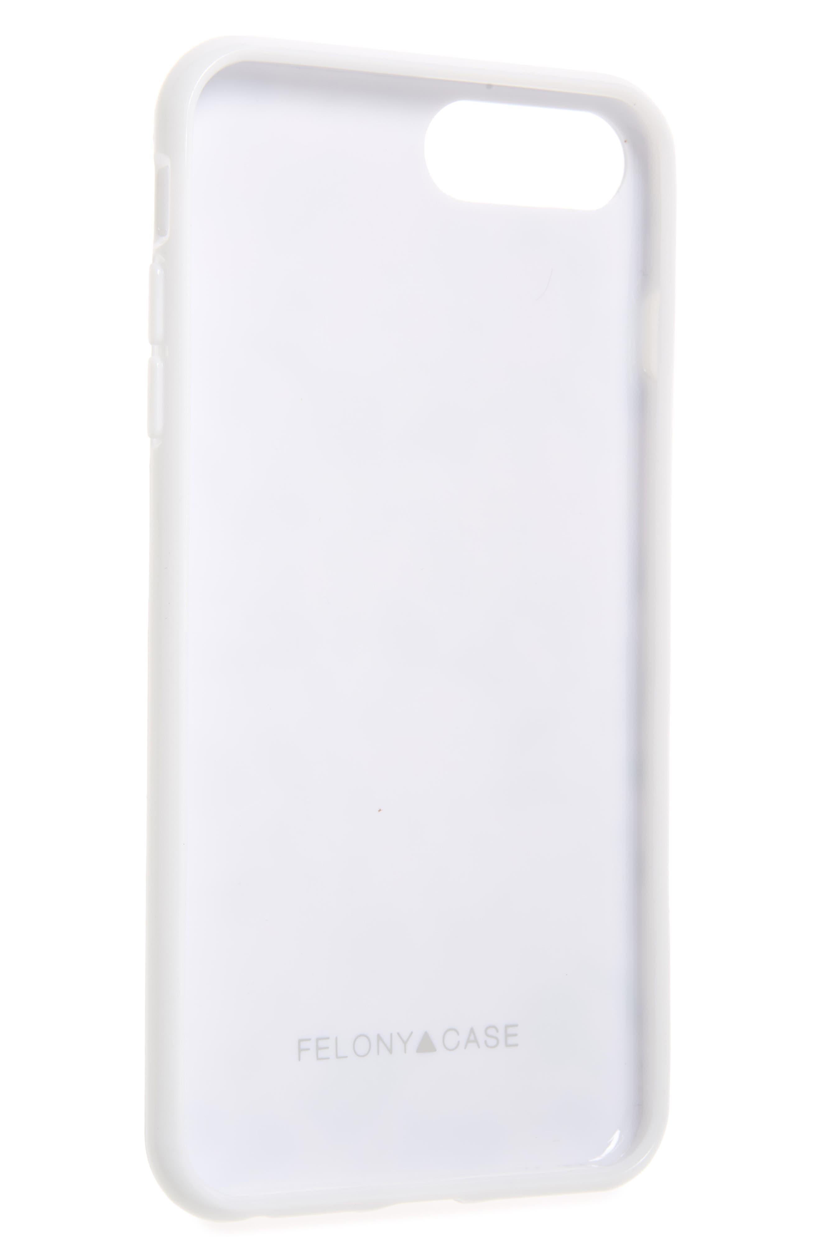White Terrazzo iPhone 6/6s/7/8 & 6/6s/7/8 Plus Case,                             Alternate thumbnail 2, color,                             100