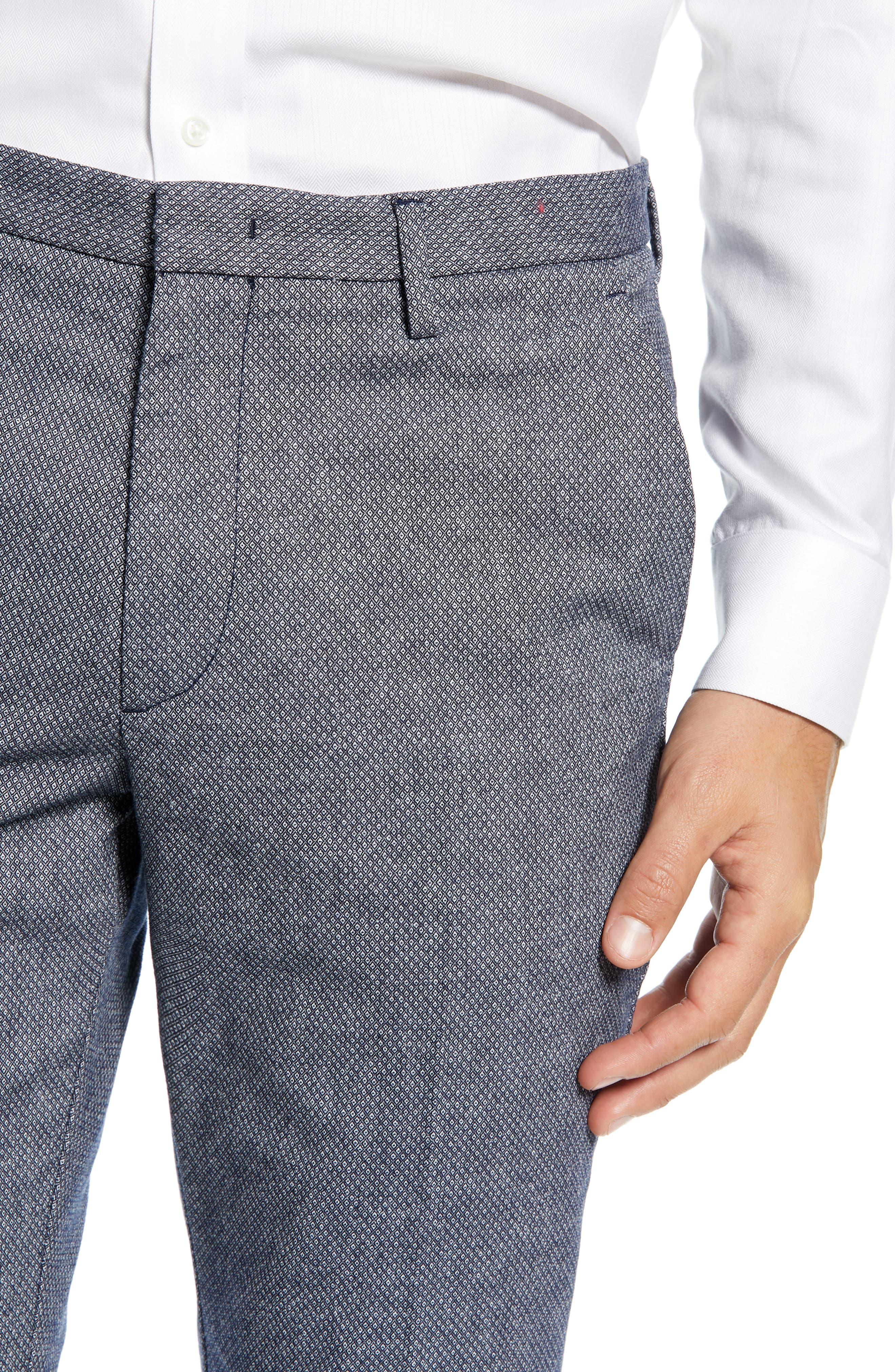 Kaito Slim Fit Pants,                             Alternate thumbnail 4, color,                             NAVY