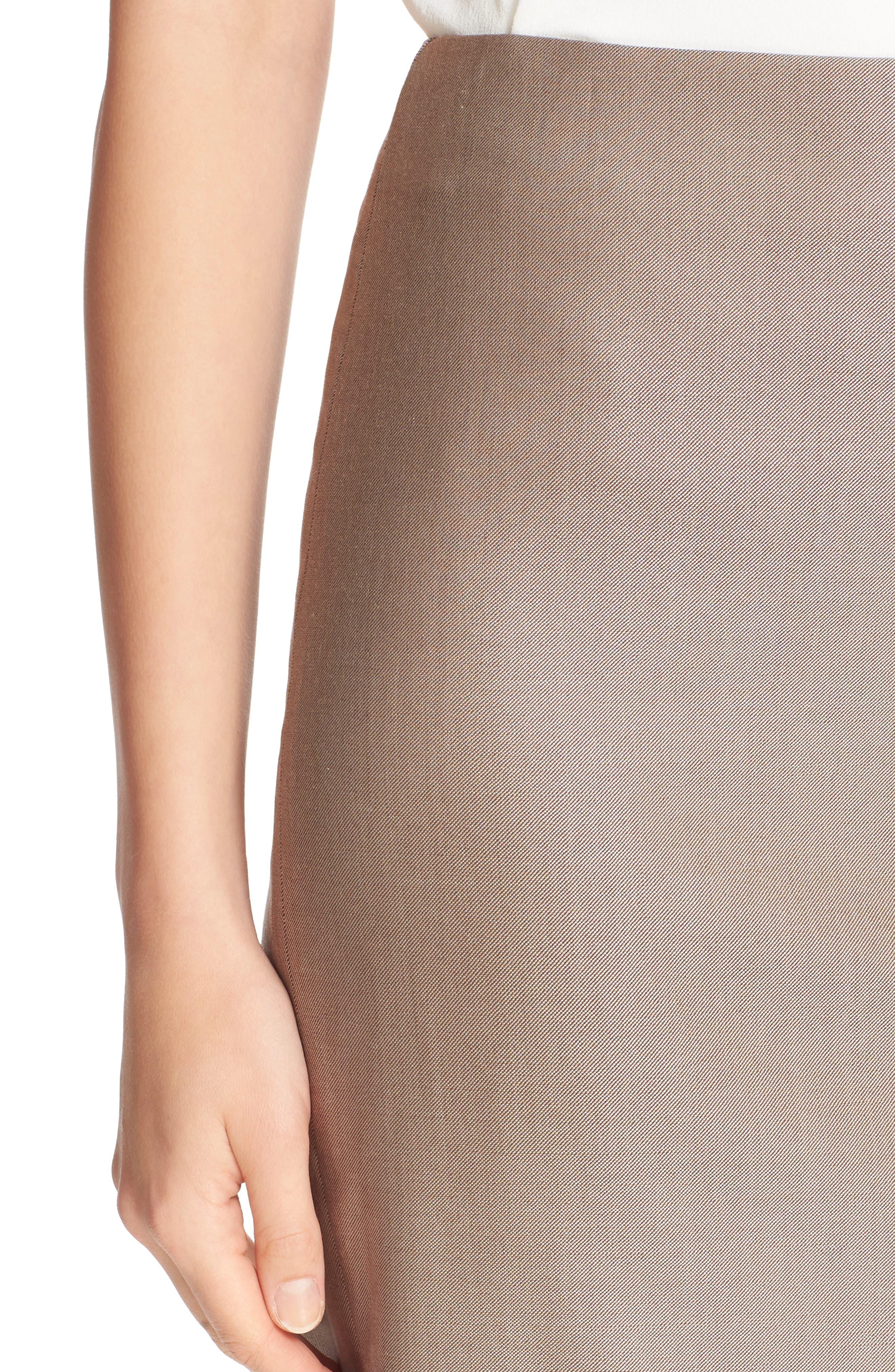Wool Blend Pencil Skirt,                             Alternate thumbnail 5, color,                             220
