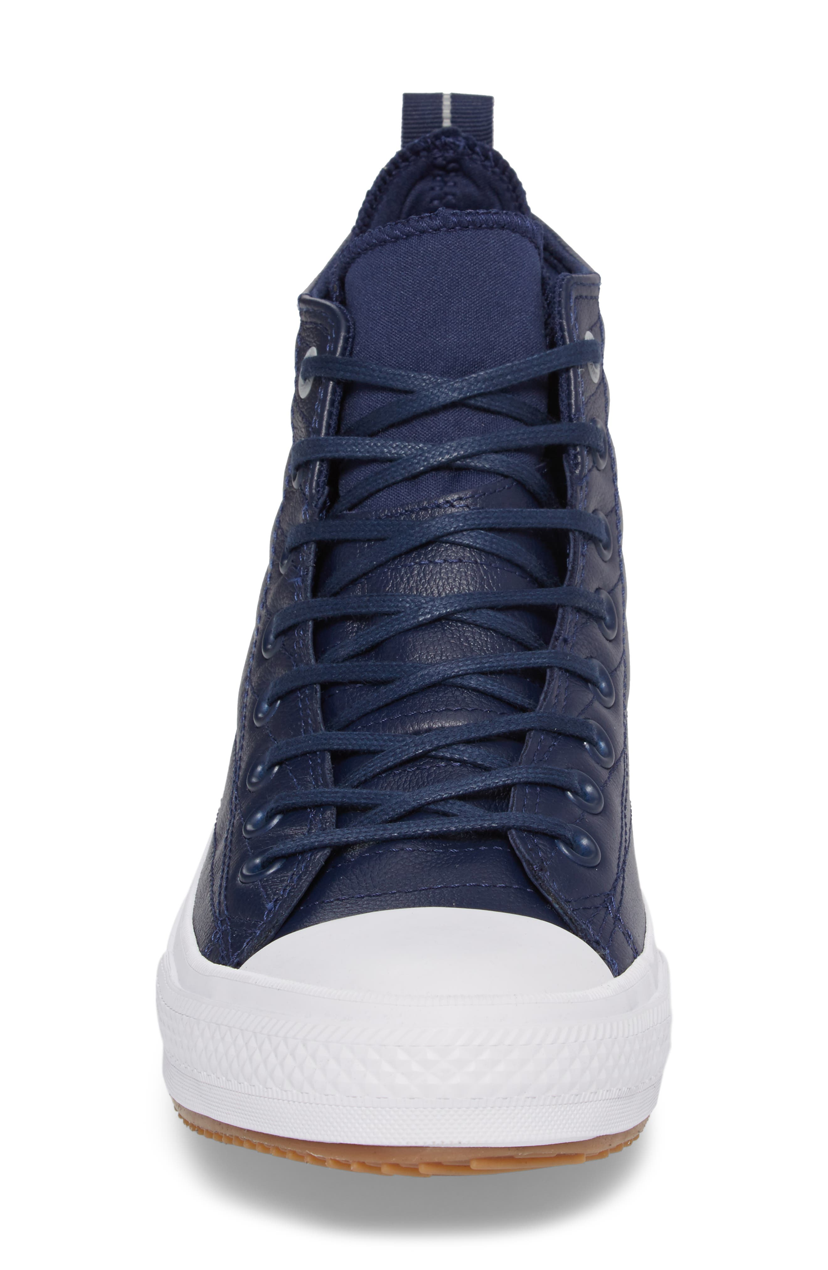 Chuck Taylor<sup>®</sup> All Star<sup>®</sup> Waterproof Quilted Sneaker,                             Alternate thumbnail 8, color,