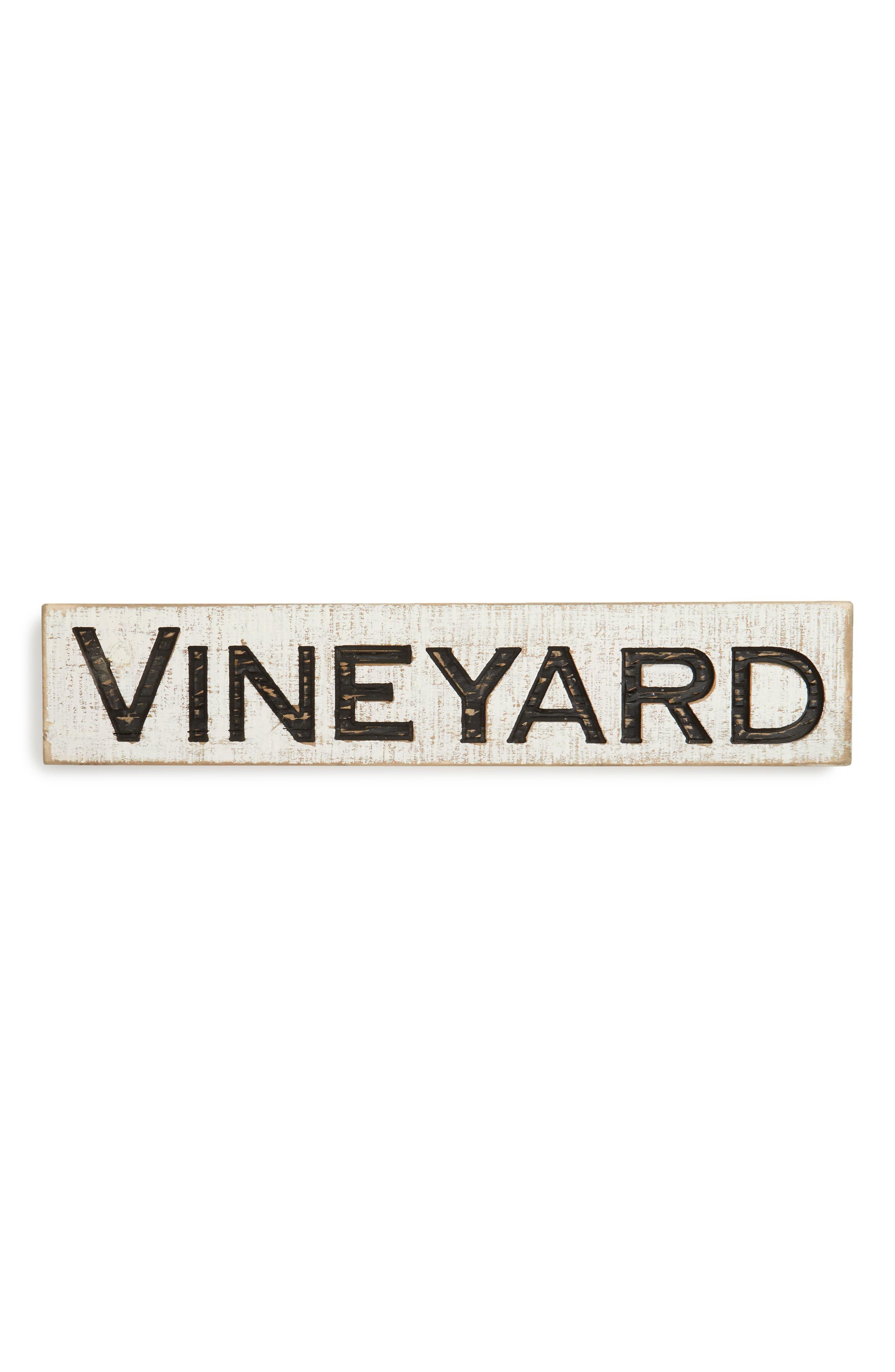 Farmhouse Vineyard Sign,                         Main,                         color, 100