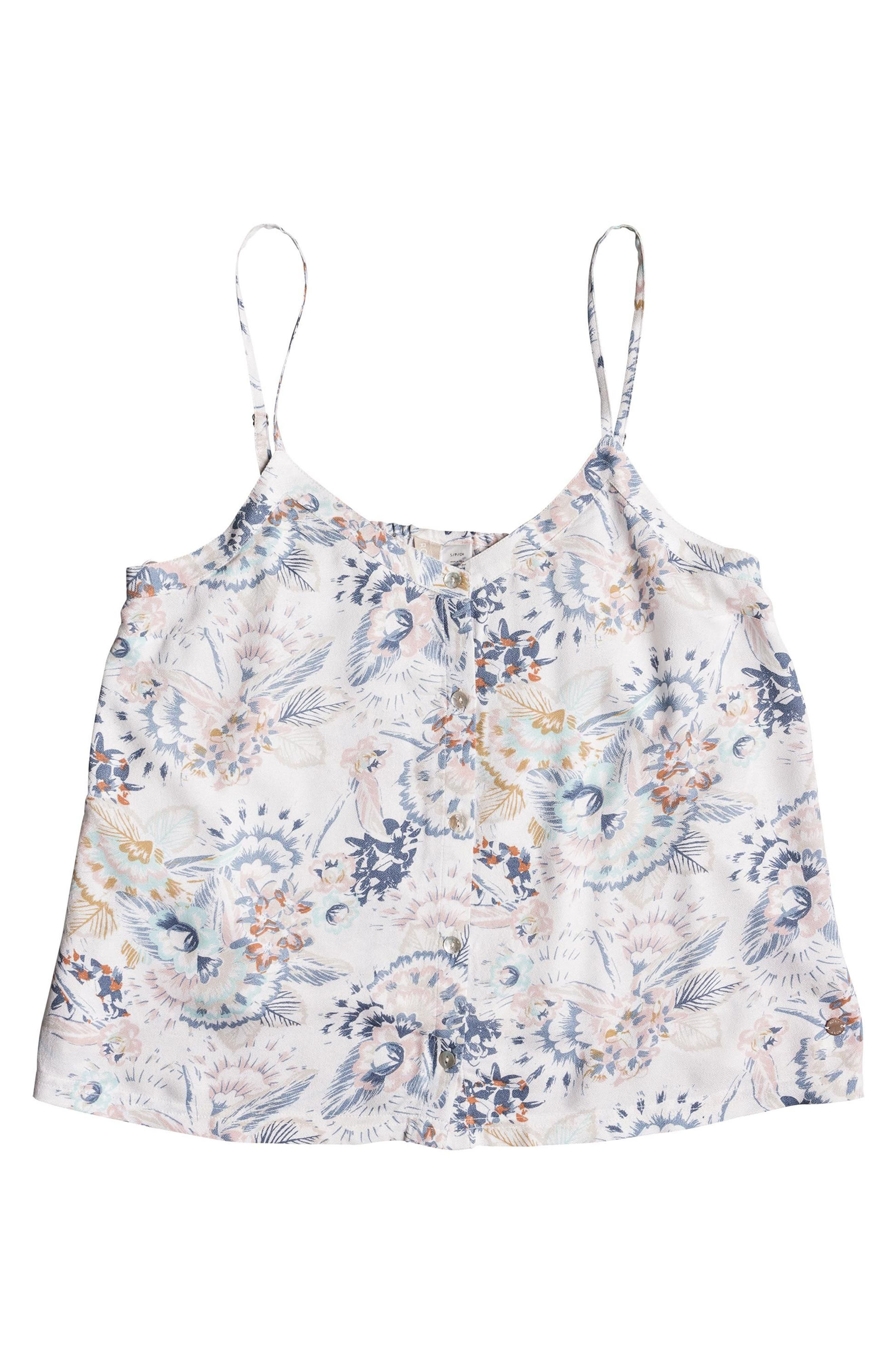 Fantasy Earth Flowy Camisole,                             Alternate thumbnail 3, color,                             101