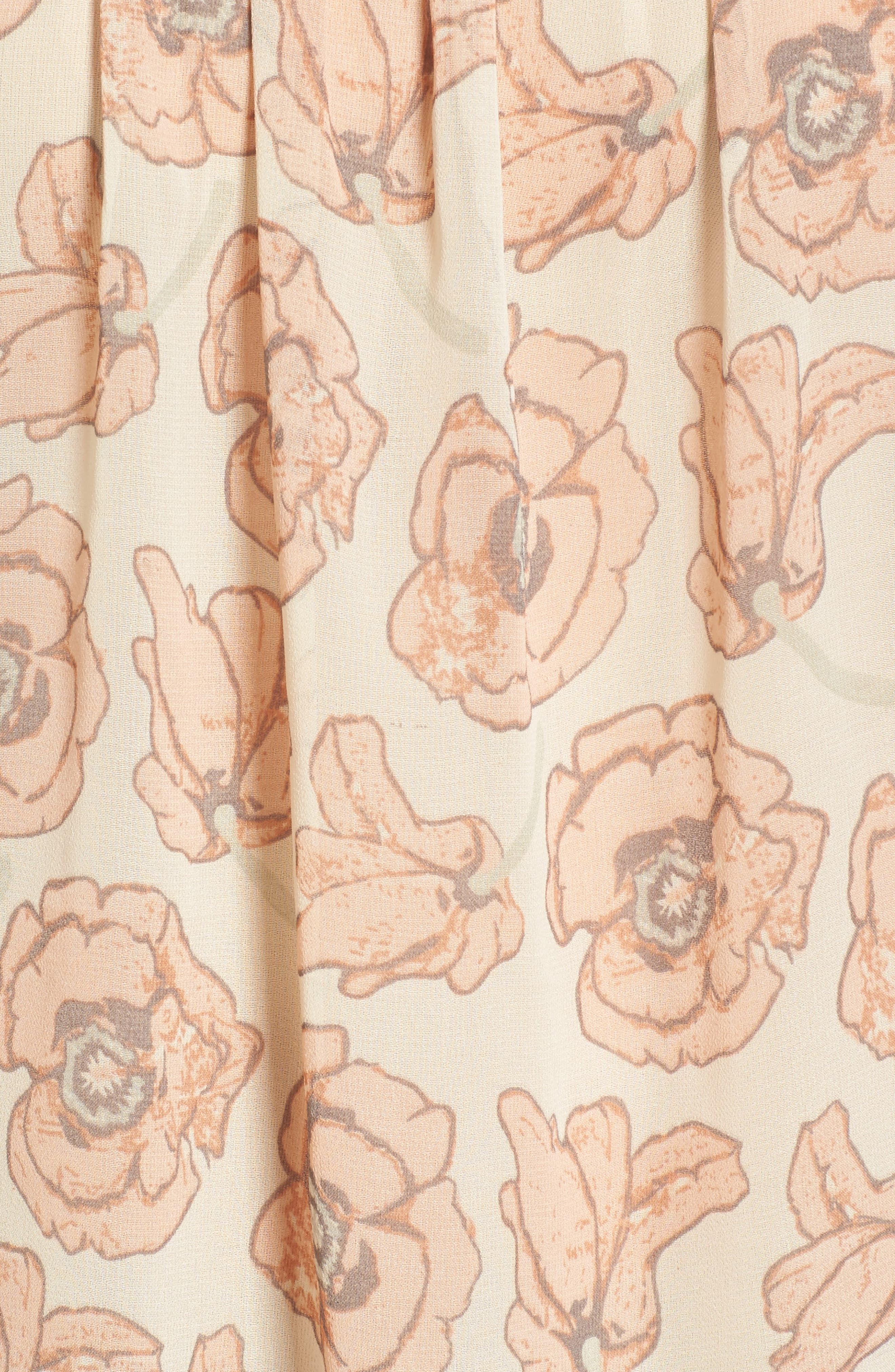 Exploded Floral Top,                             Alternate thumbnail 5, color,                             690