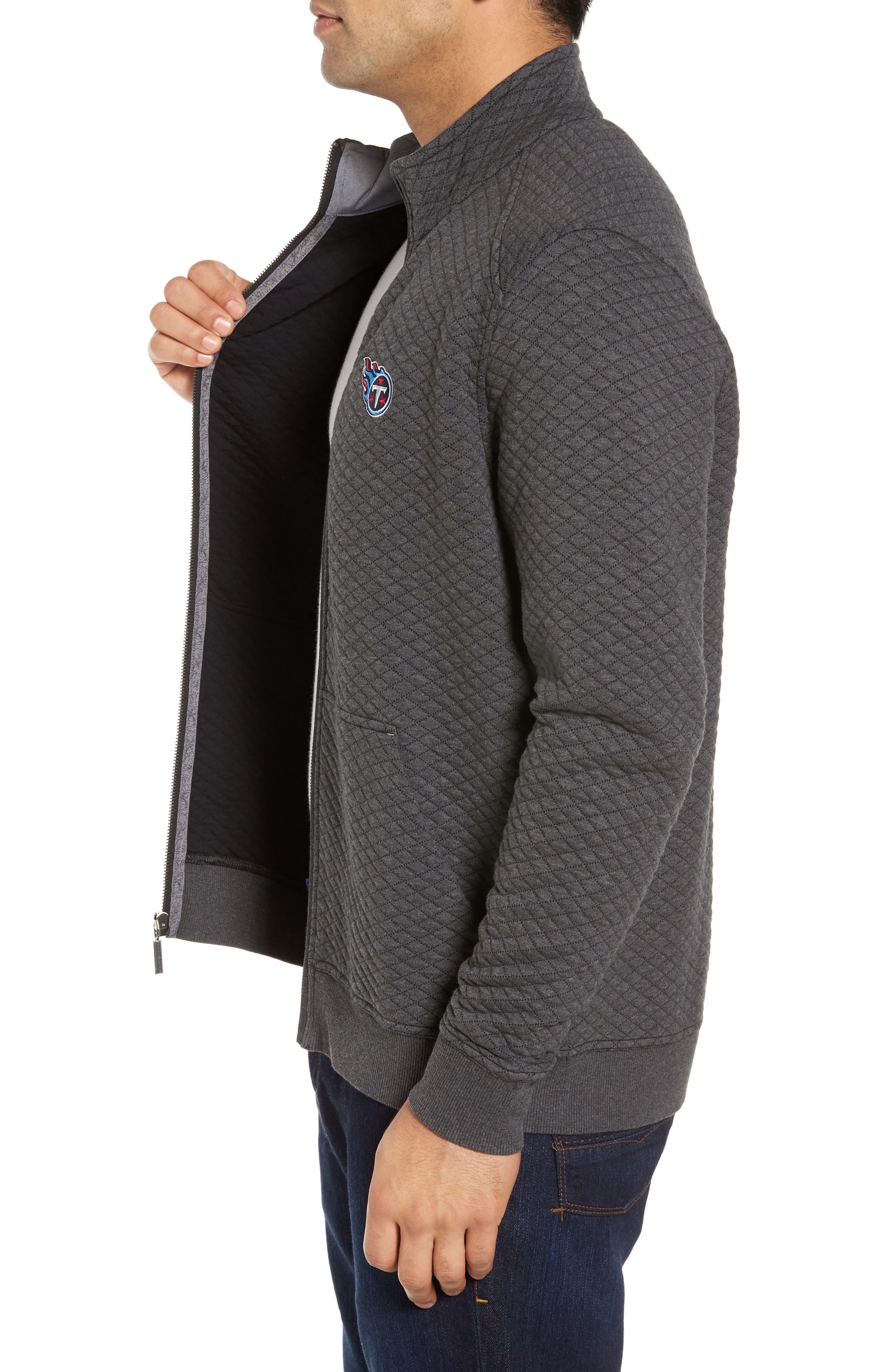 NFL Quiltessential Full Zip Sweatshirt,                             Alternate thumbnail 92, color,
