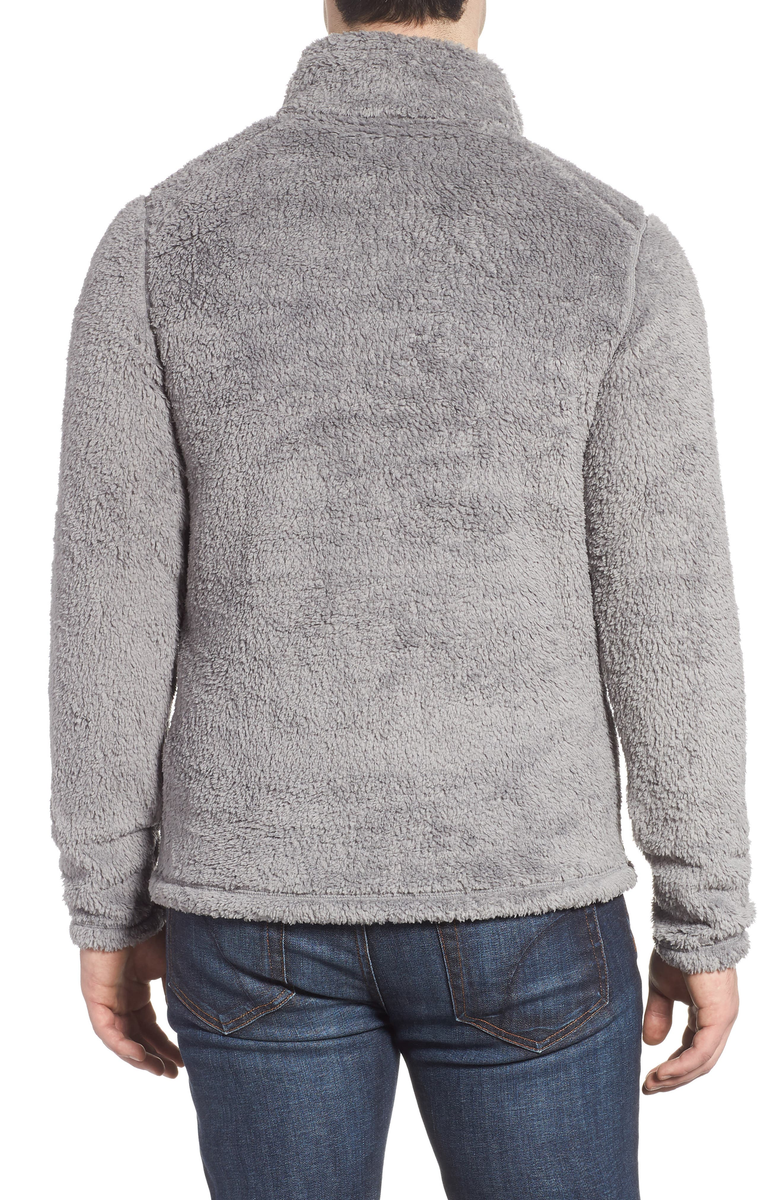 Los Gatos Quarter Zip Pullover,                             Alternate thumbnail 2, color,                             FEATHER GREY
