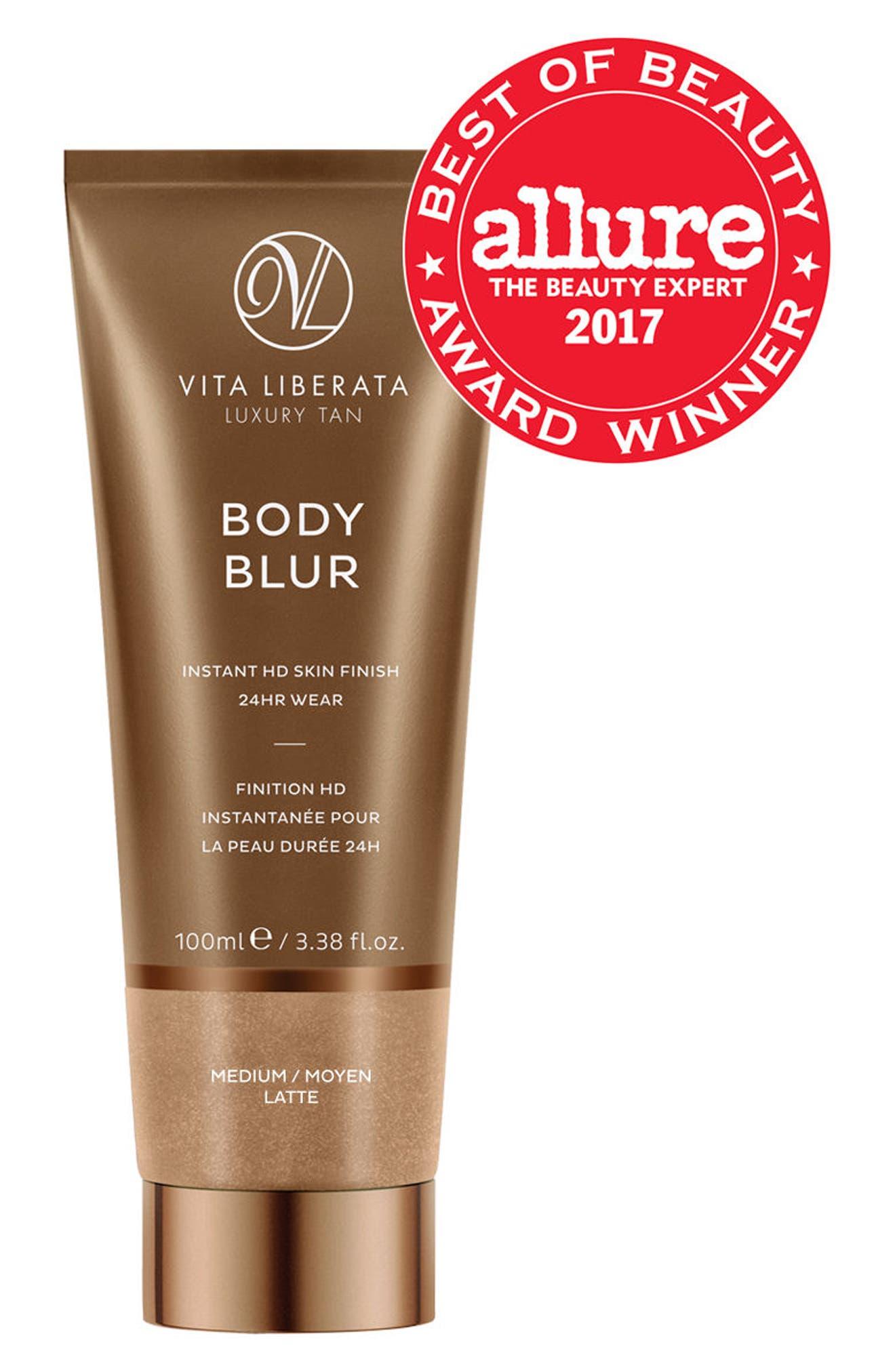 VITA LIBERATA,                             Body Blur Instant HD Skin Finish,                             Alternate thumbnail 2, color,                             LATTE