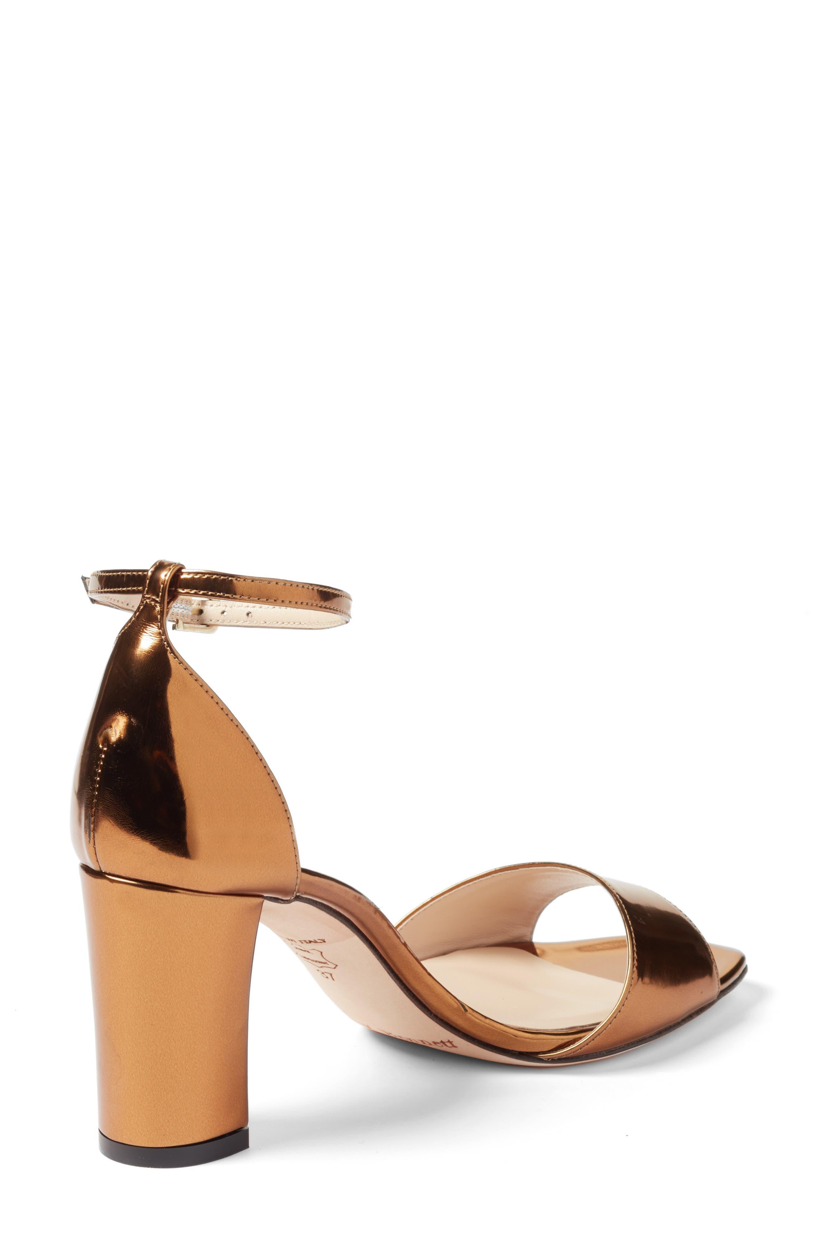 'Helena' Ankle Strap Block Heel Sandal,                             Alternate thumbnail 2, color,                             710
