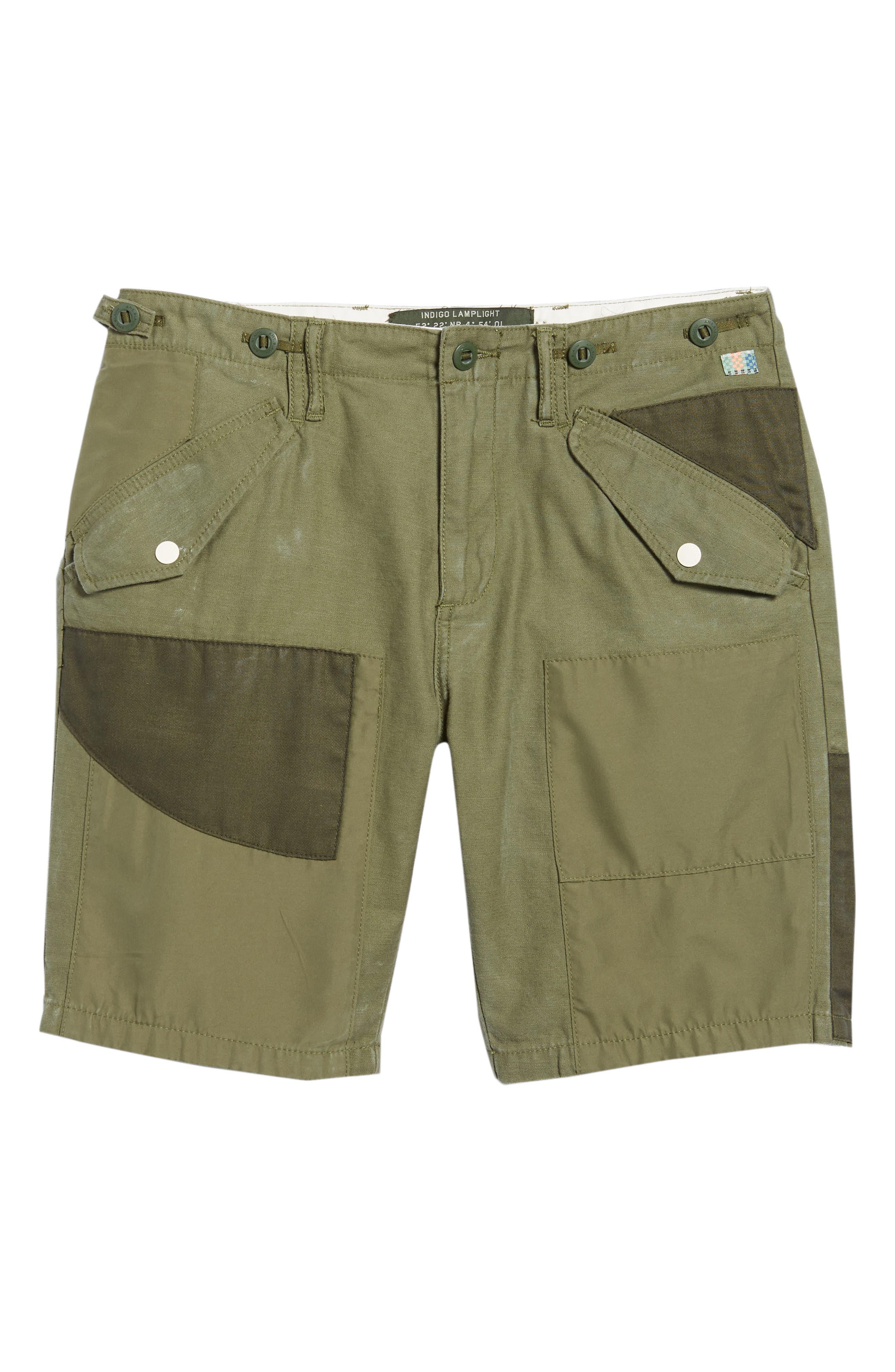 Cargo Shorts,                             Alternate thumbnail 6, color,                             GREEN