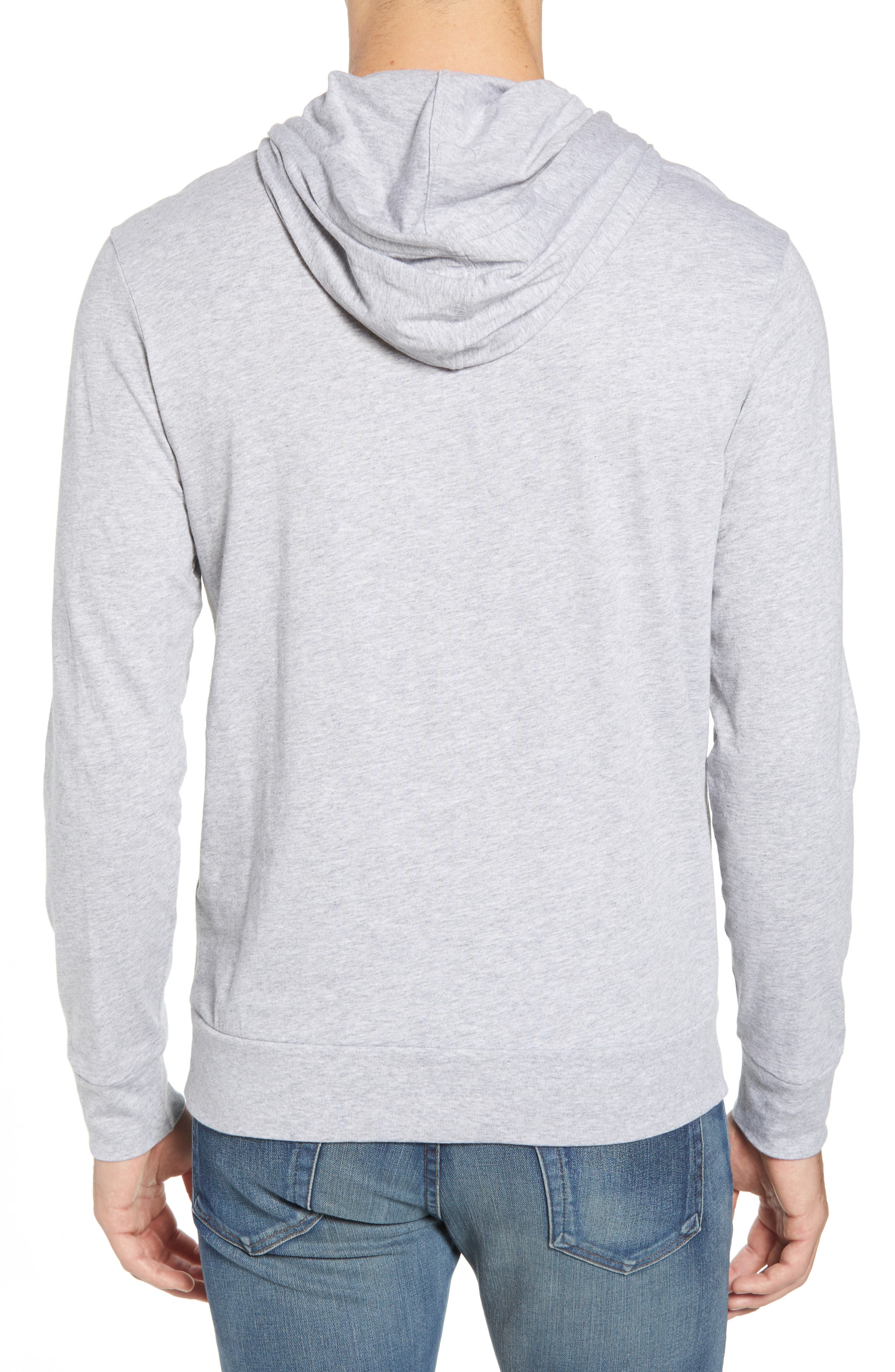 Pullover Hoodie,                             Alternate thumbnail 2, color,                             SILVER CHINE