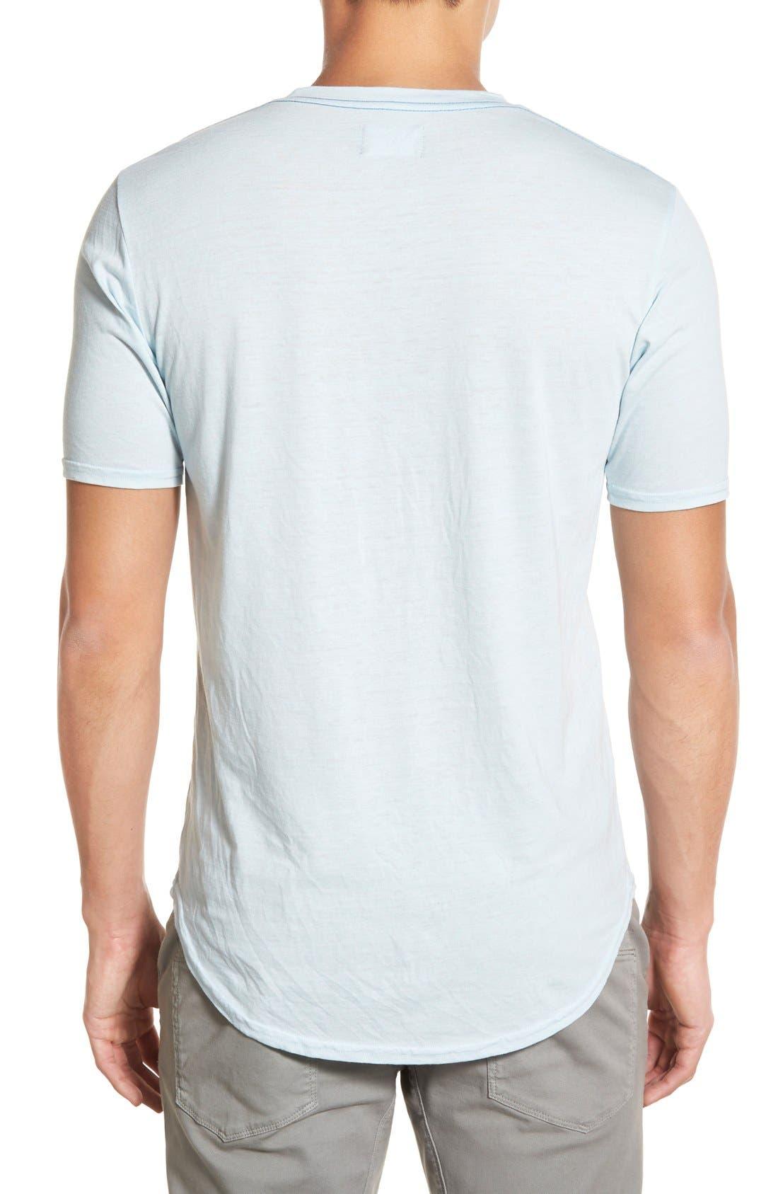 Scallop Triblend Crewneck T-Shirt,                             Alternate thumbnail 66, color,